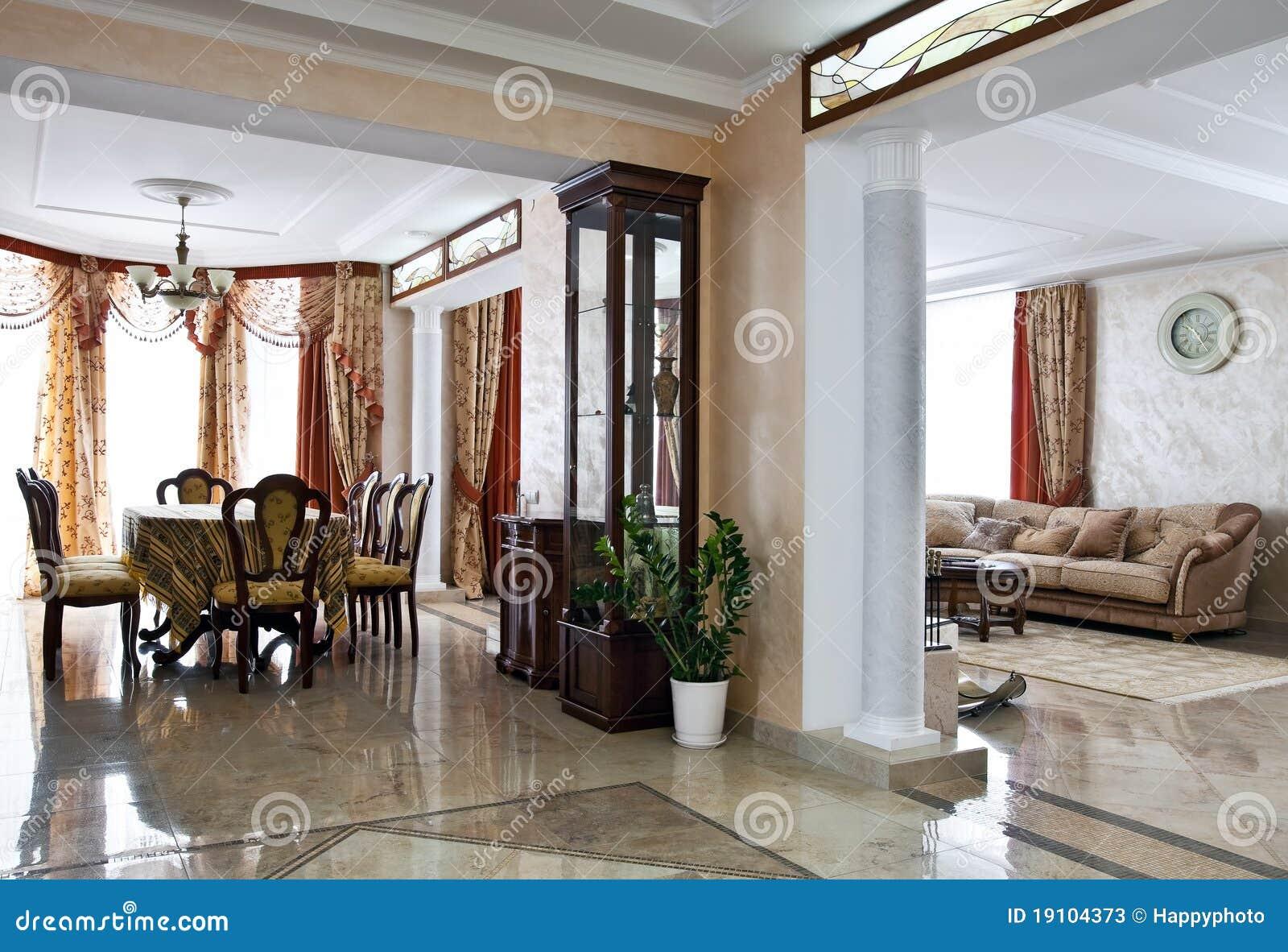 int rieur la maison de luxe photos stock image 19104373. Black Bedroom Furniture Sets. Home Design Ideas