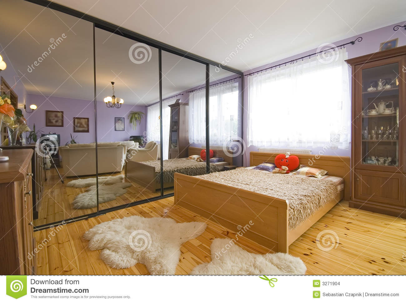 Int rieur la maison moderne images stock image 3271904 for Interieure maison