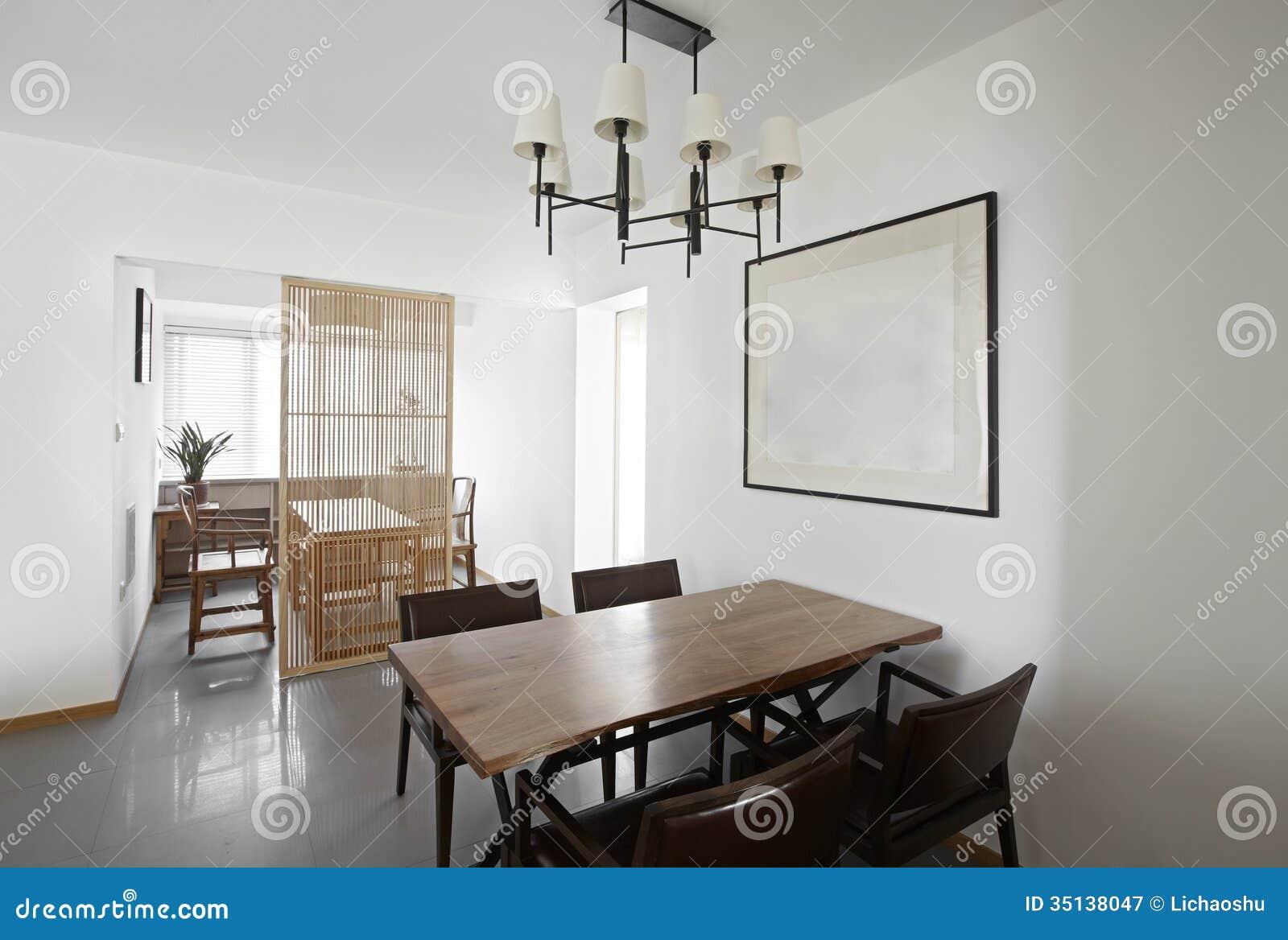 int rieur la maison propre et l gant photographie stock libre de droits image 35138047. Black Bedroom Furniture Sets. Home Design Ideas
