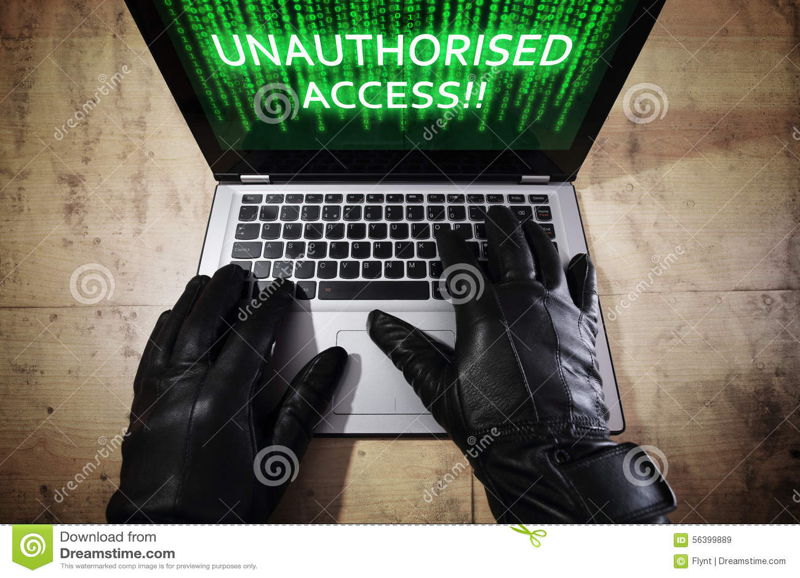 Intrus volant des données d un ordinateur portatif