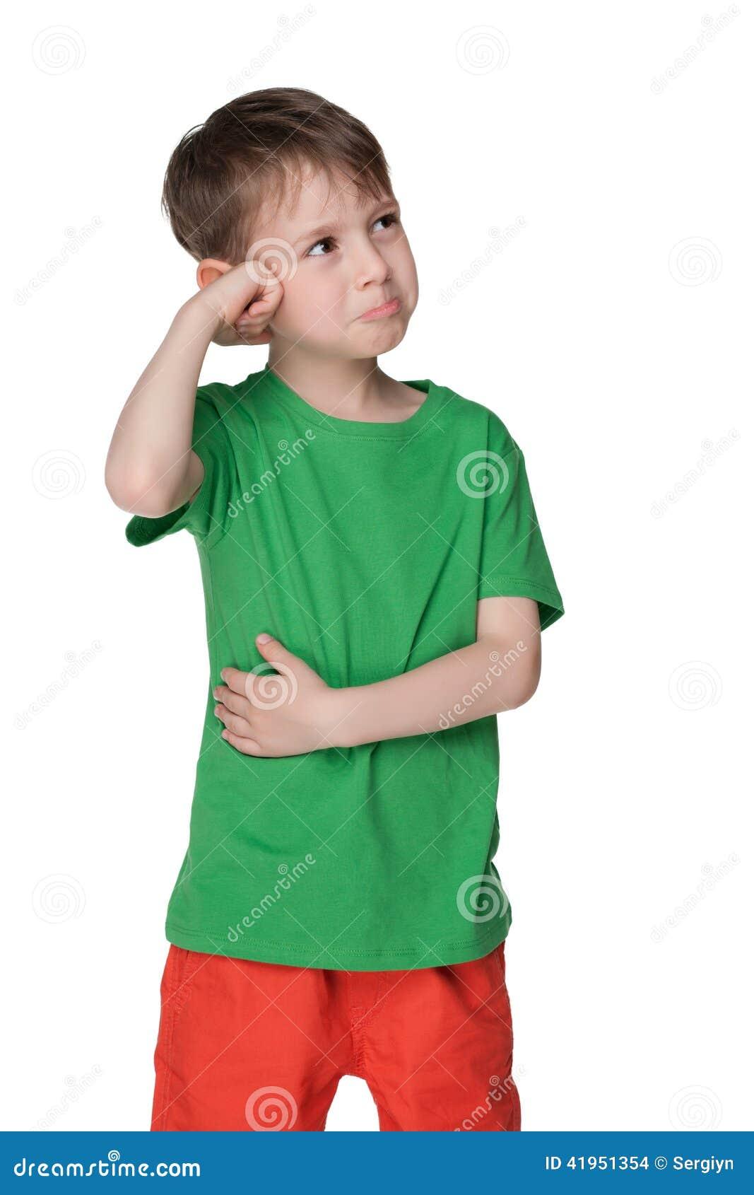 Intrygujący dziecka