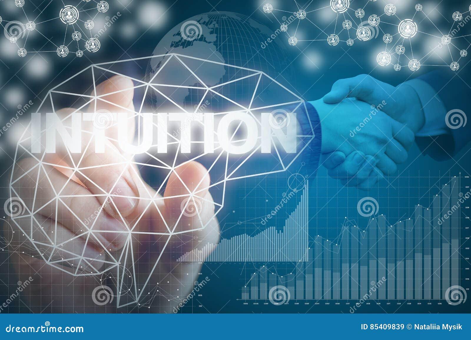 Intuition pendant des affaires rentables dans les affaires