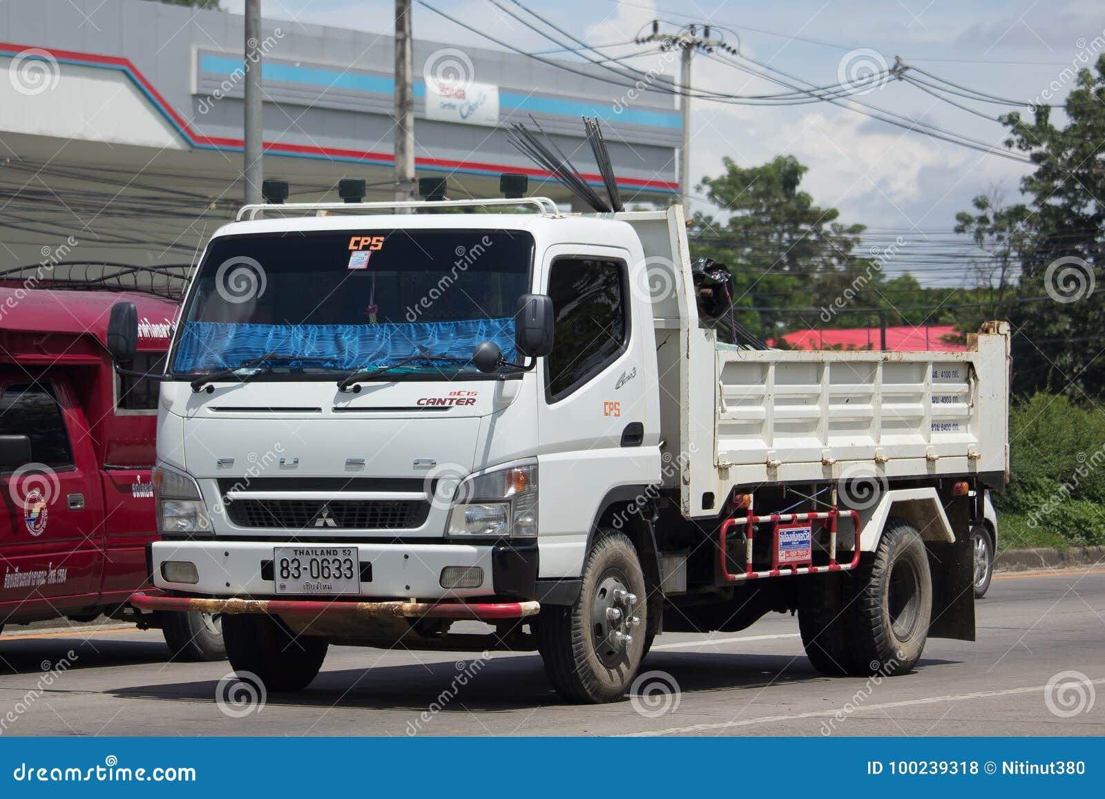 Intymna Mitsubishi Fuso usypu ciężarówka