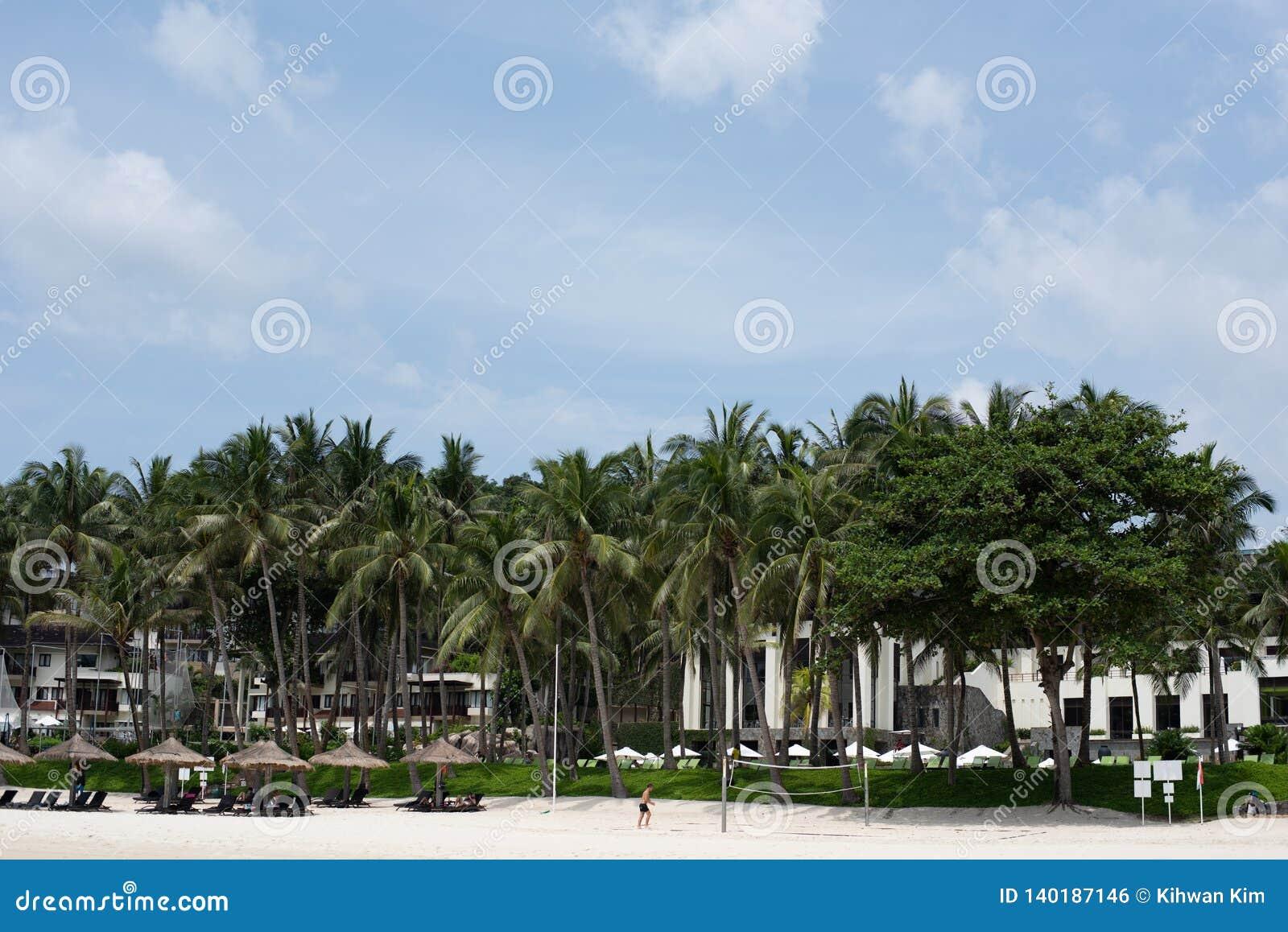 Intymna plaża ClubMed Bintan