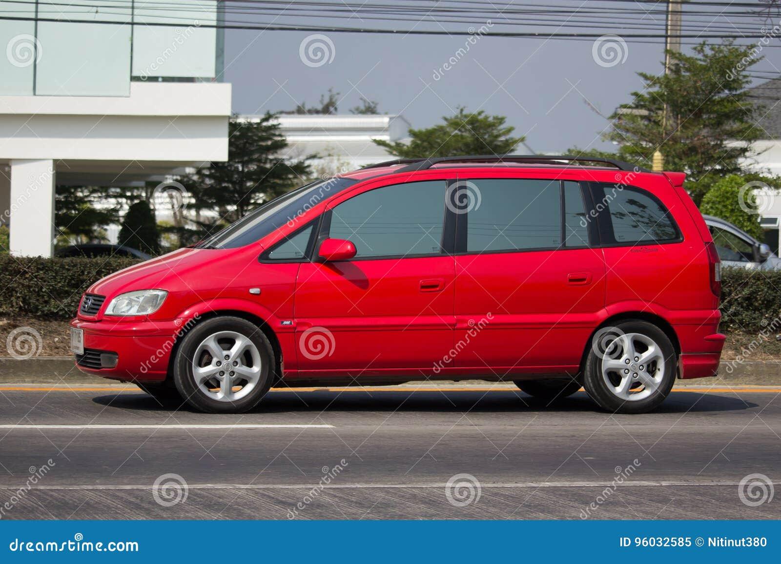 Intymny SUV samochód, Chevrolet Zafira