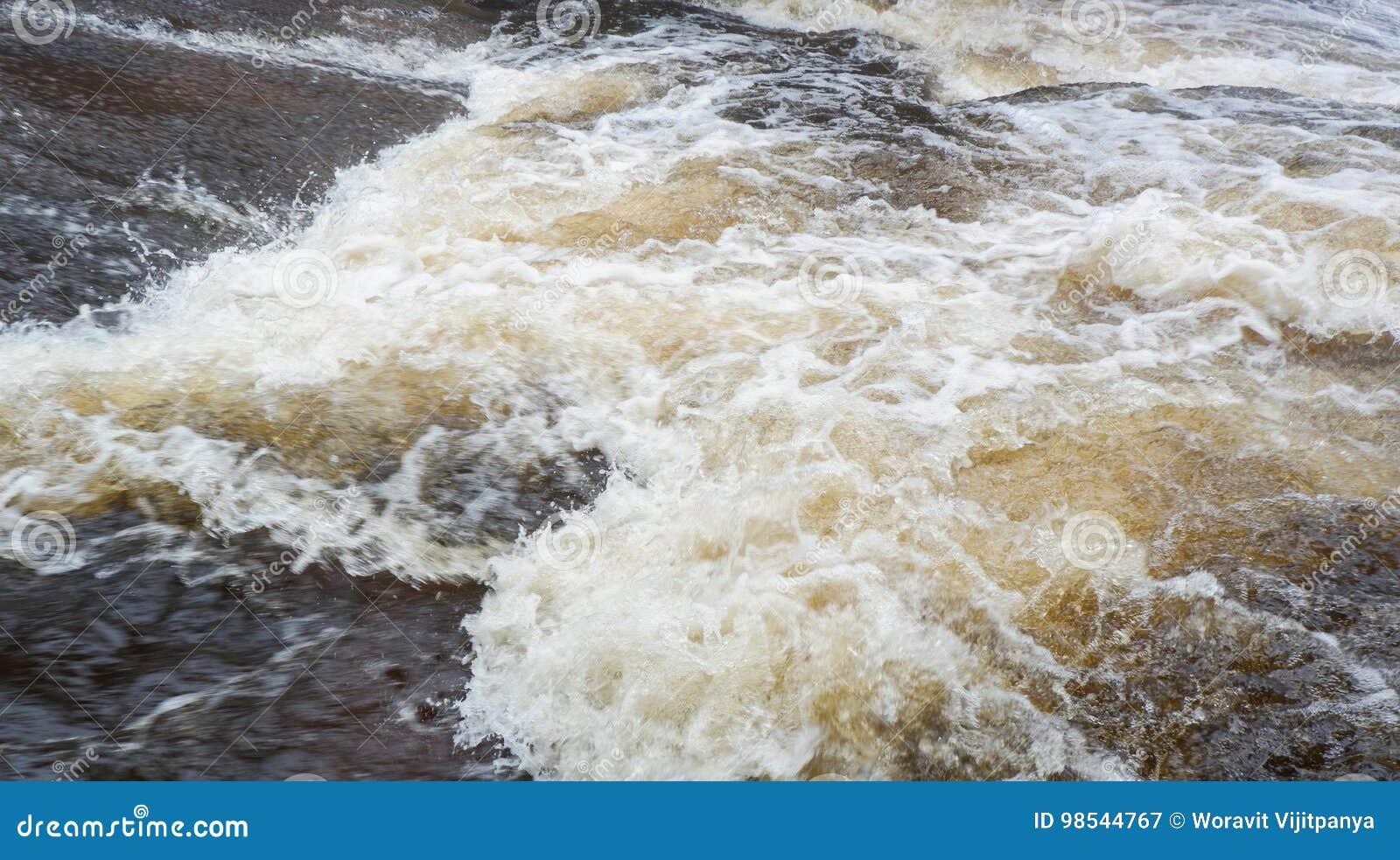 Inundação da água