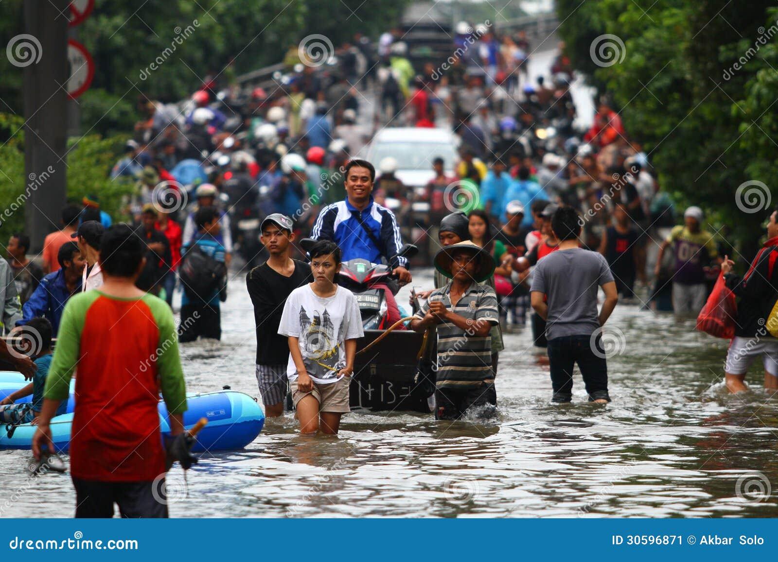 Inundação de Jakarta