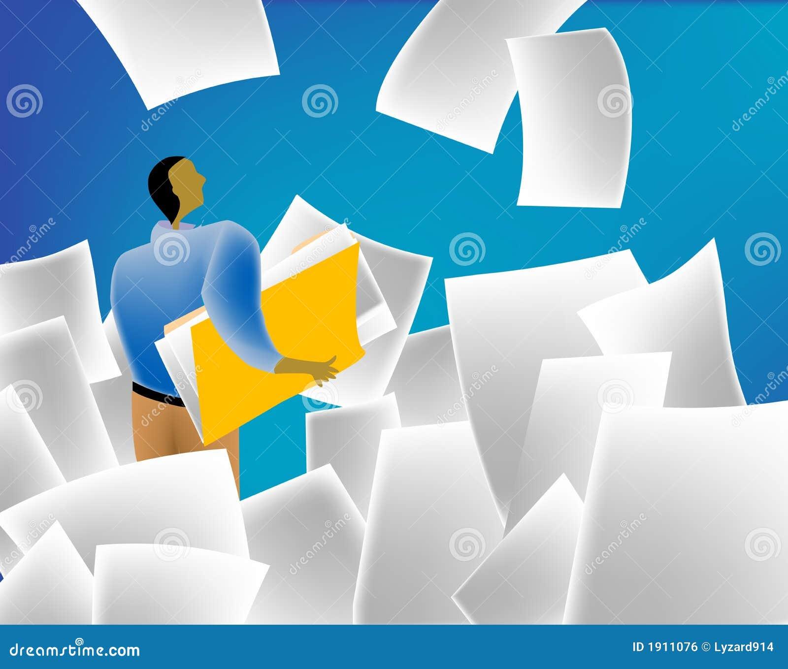 Inundação de papel
