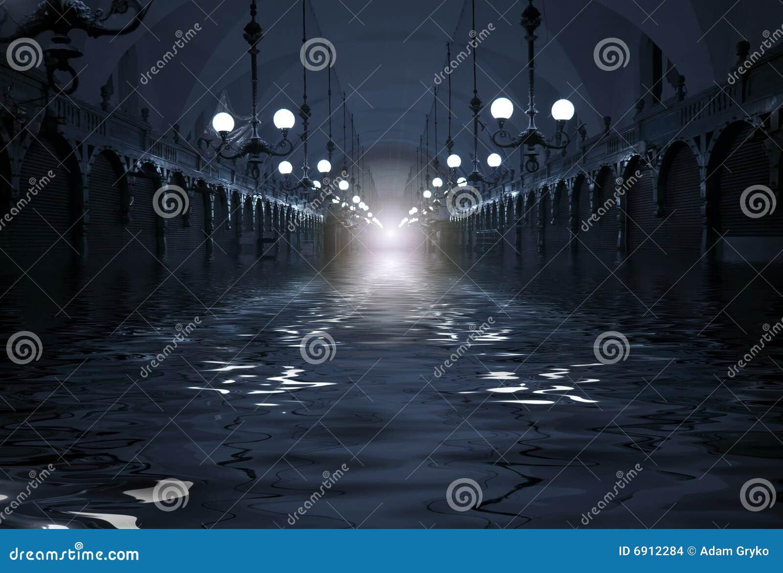 Inundação no túnel