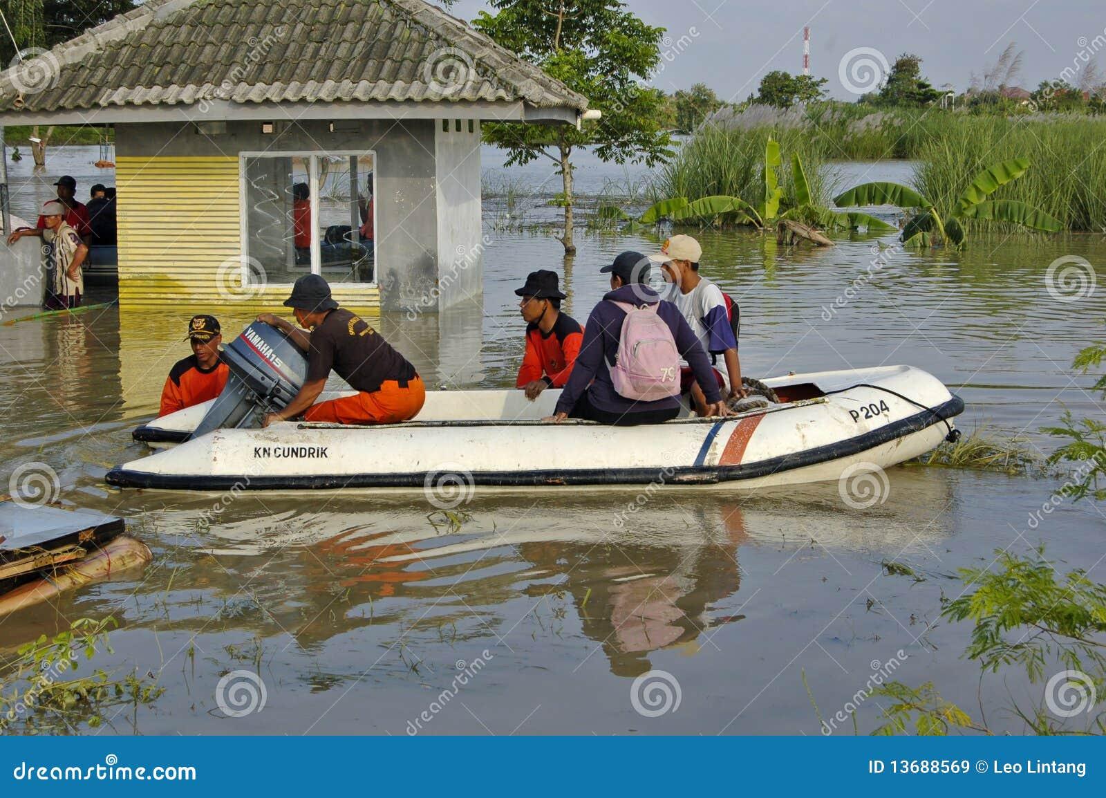 Inundación en Karawang