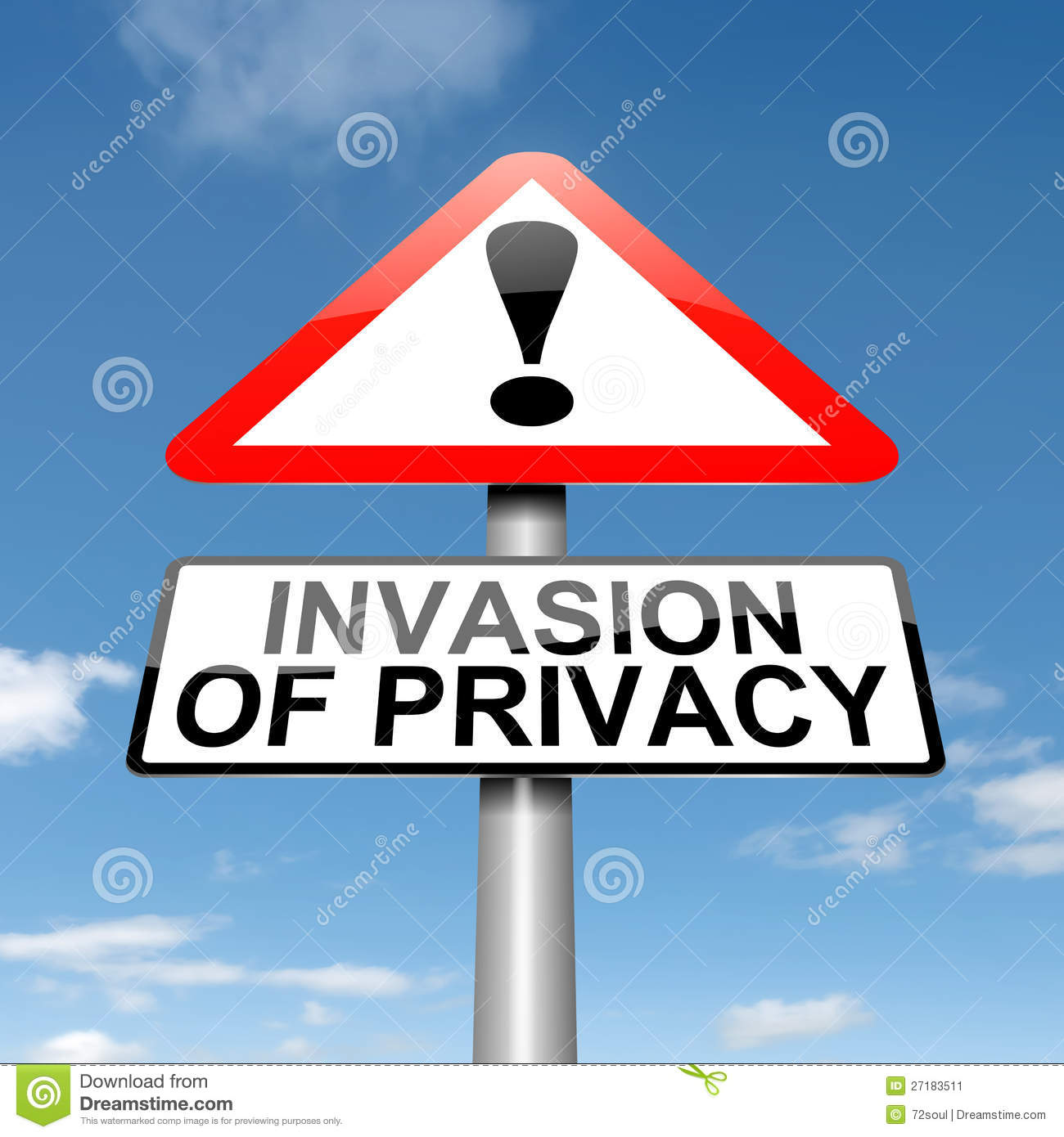 invasion of privacy in sports
