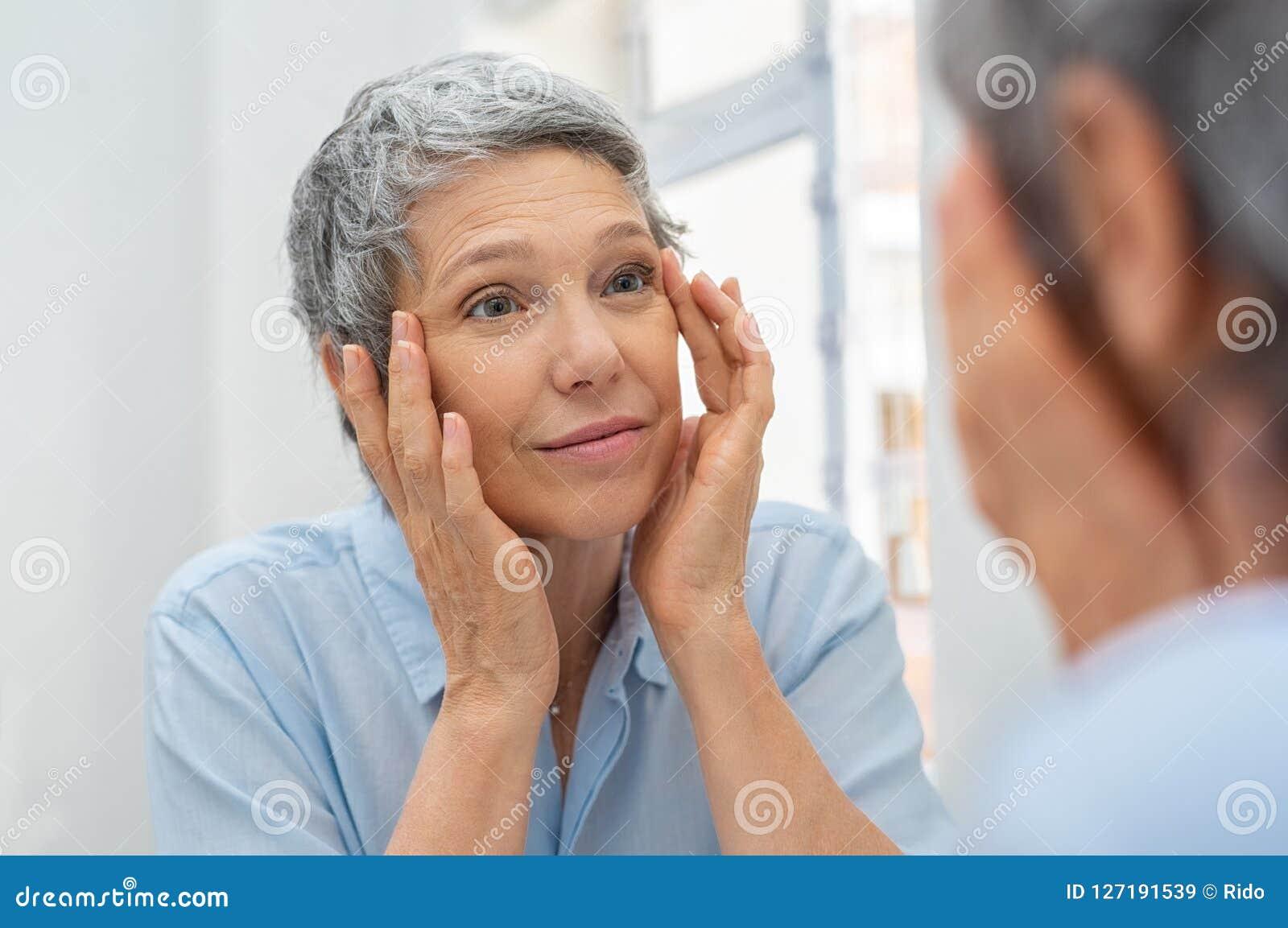 Invecchiamento maturo della donna