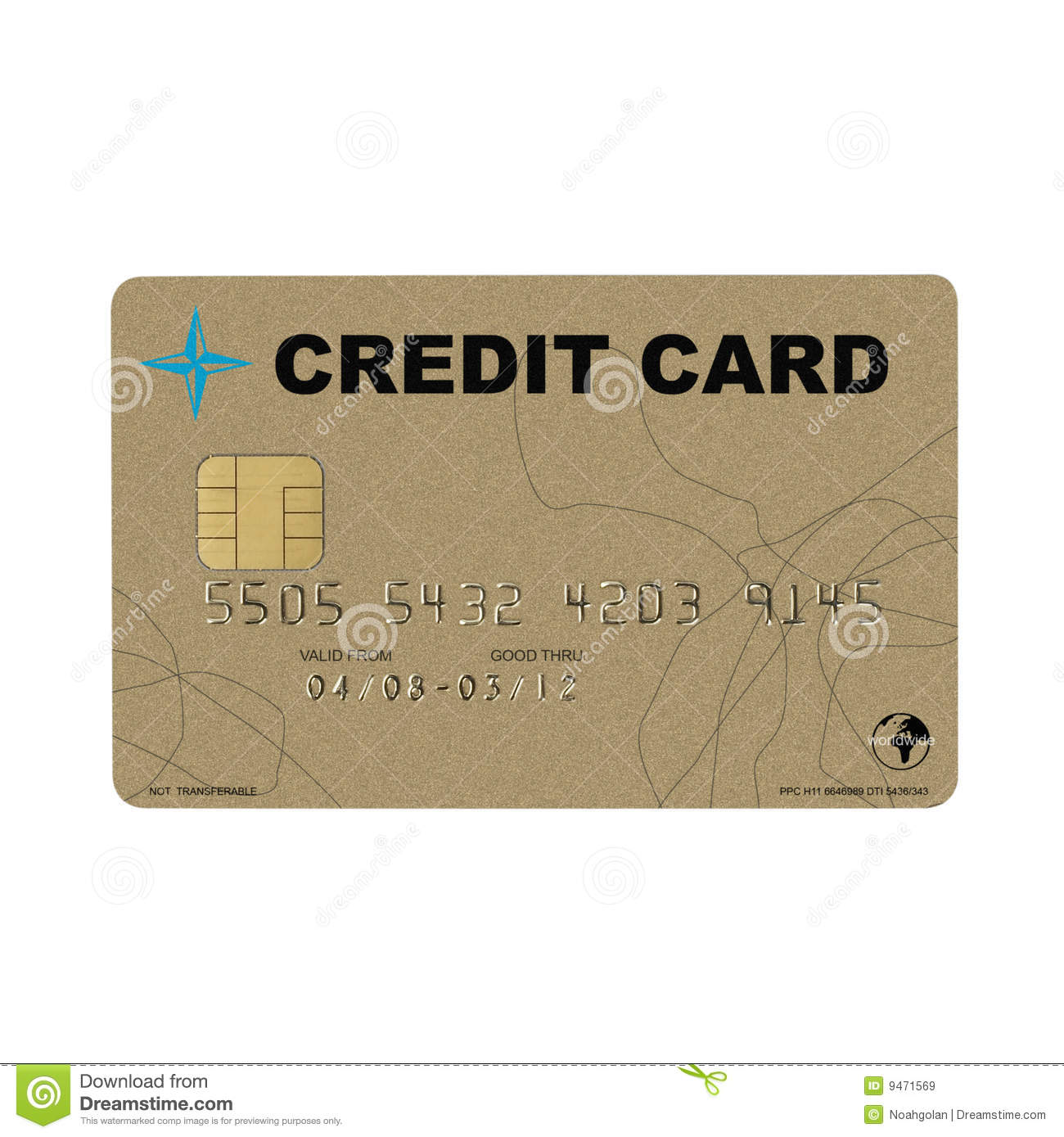 invented golden credit card royalty free stock images