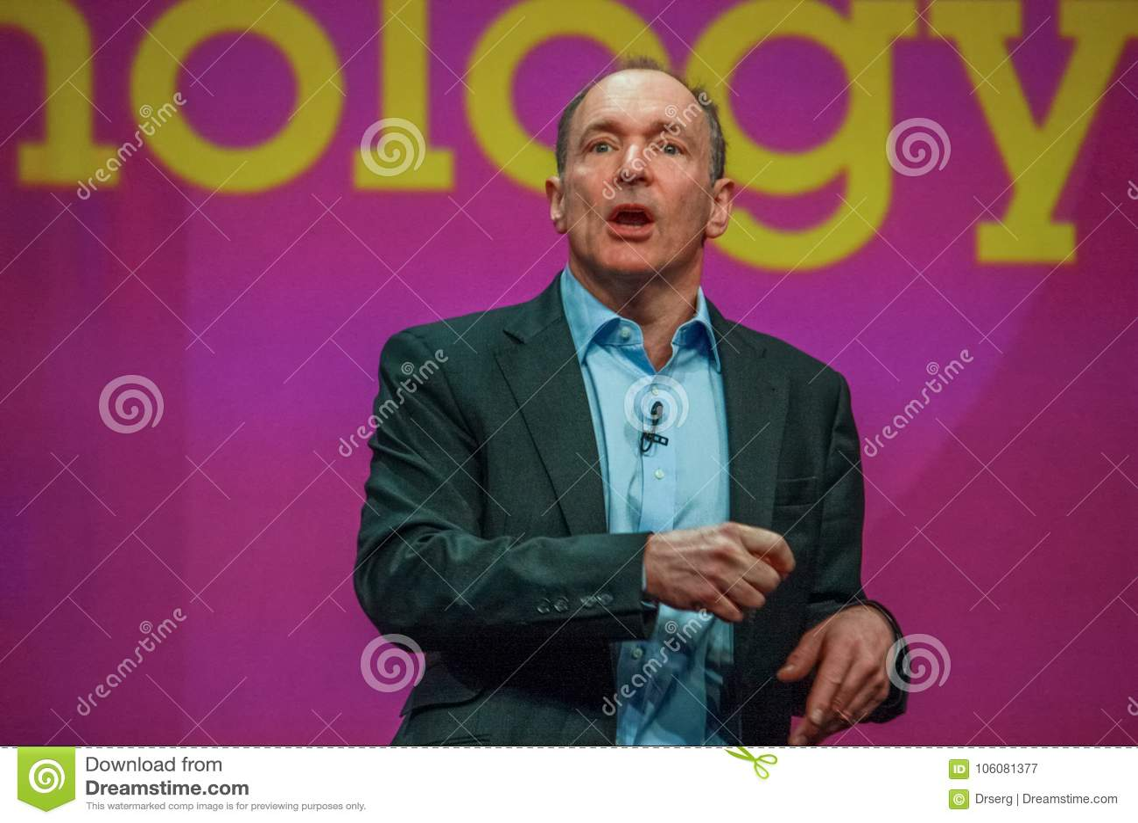Inventor y fundador del World Wide Web Sir Tim Berners-Lee