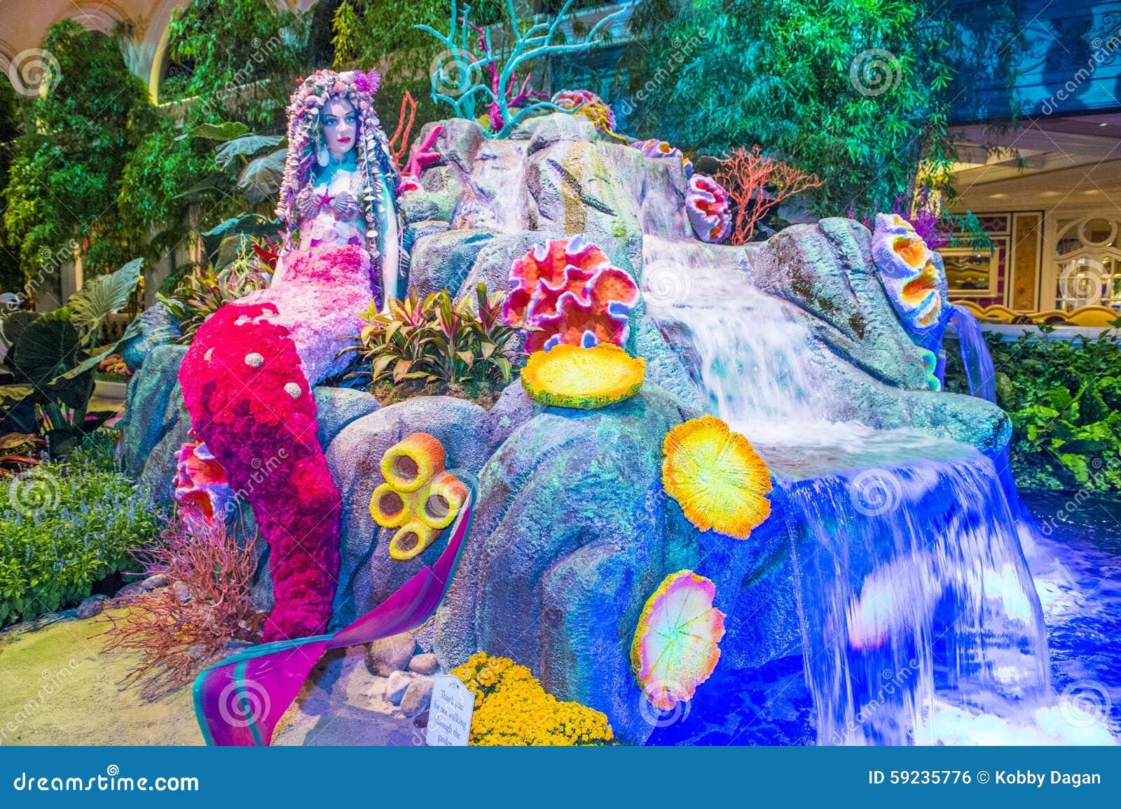 Download Invernadero Del Hotel De Bellagio Y Jardines Botánicos Foto editorial - Imagen de hospitalidad, hierba: 59235776