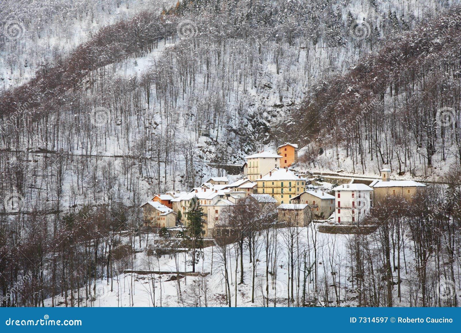Inverno del villaggio