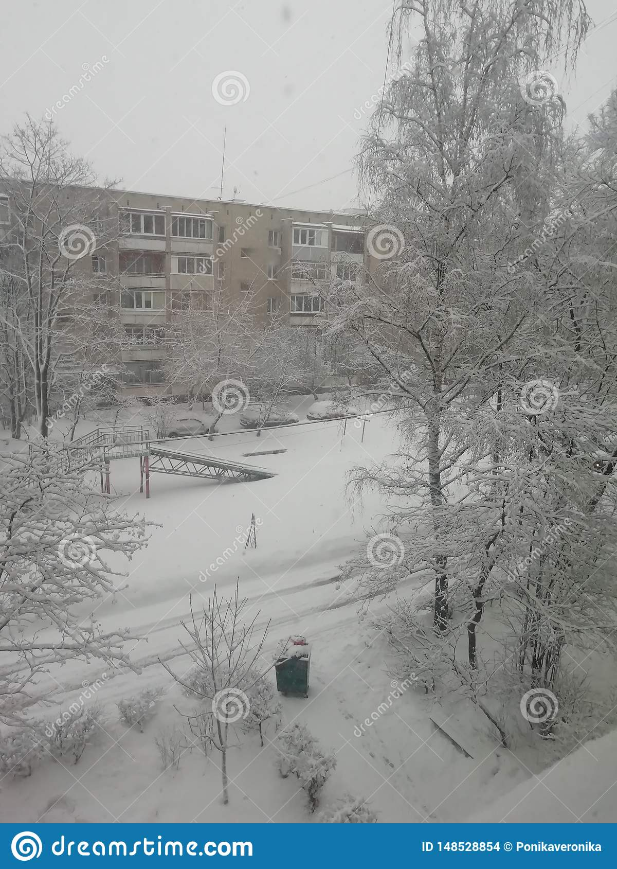 Inverno do russo, tempo bonito
