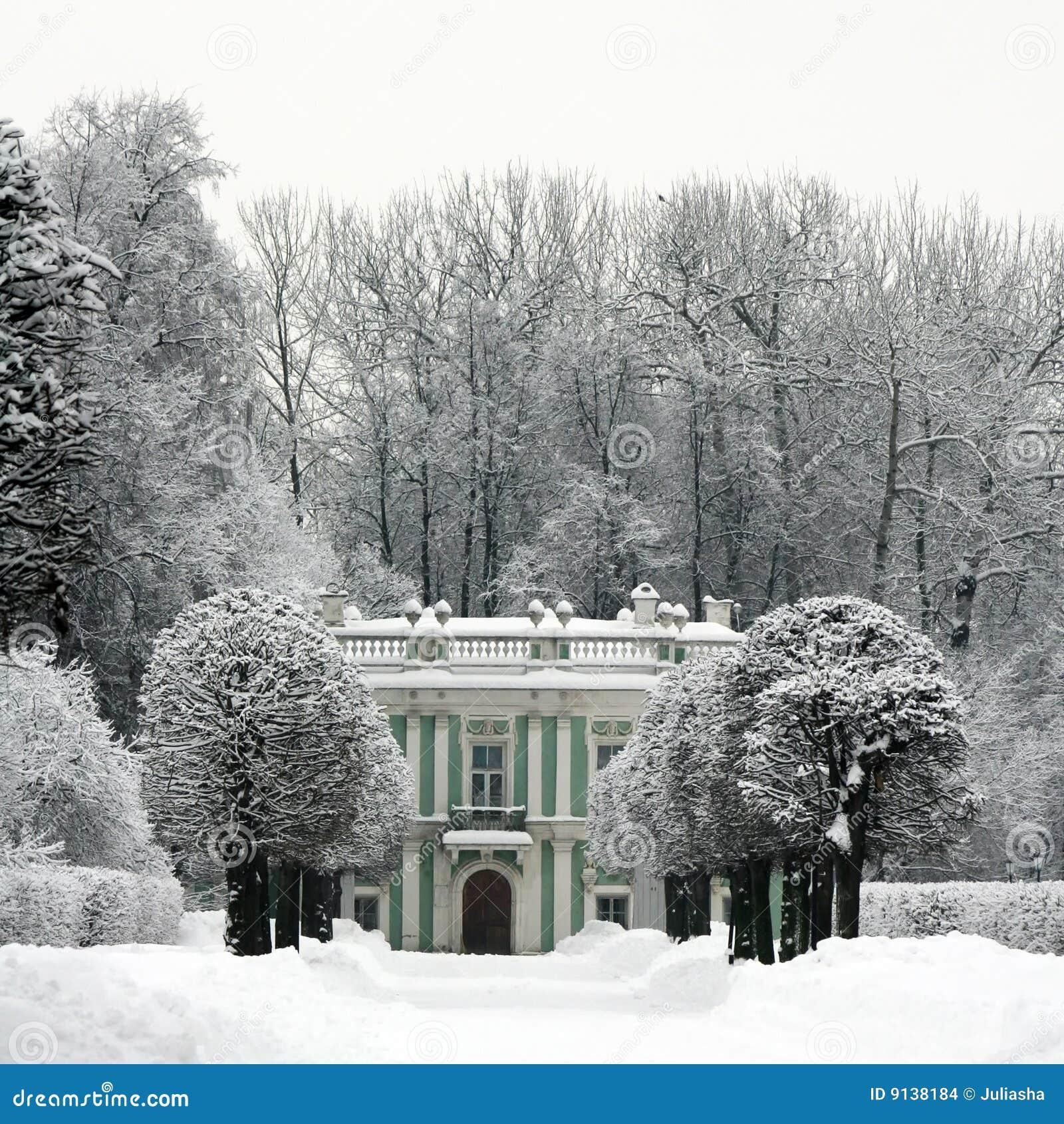 Inverno em Kuskovo