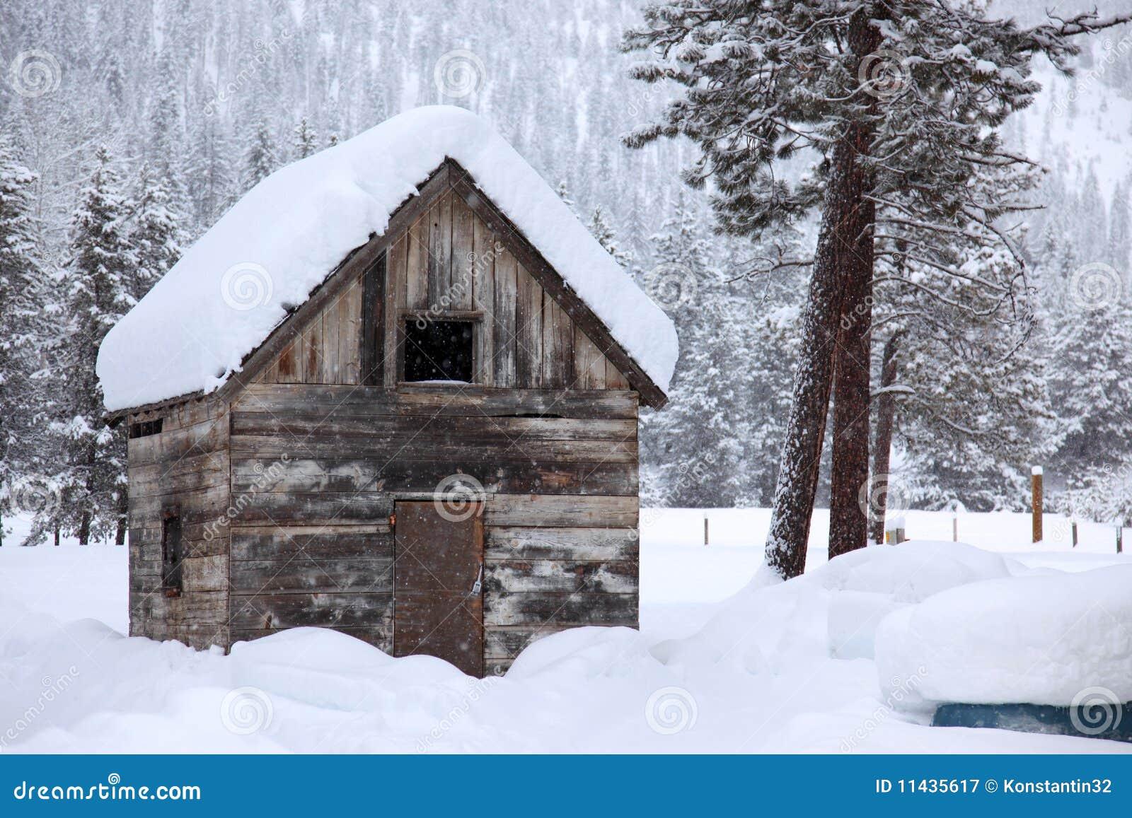 Inverno na área rural