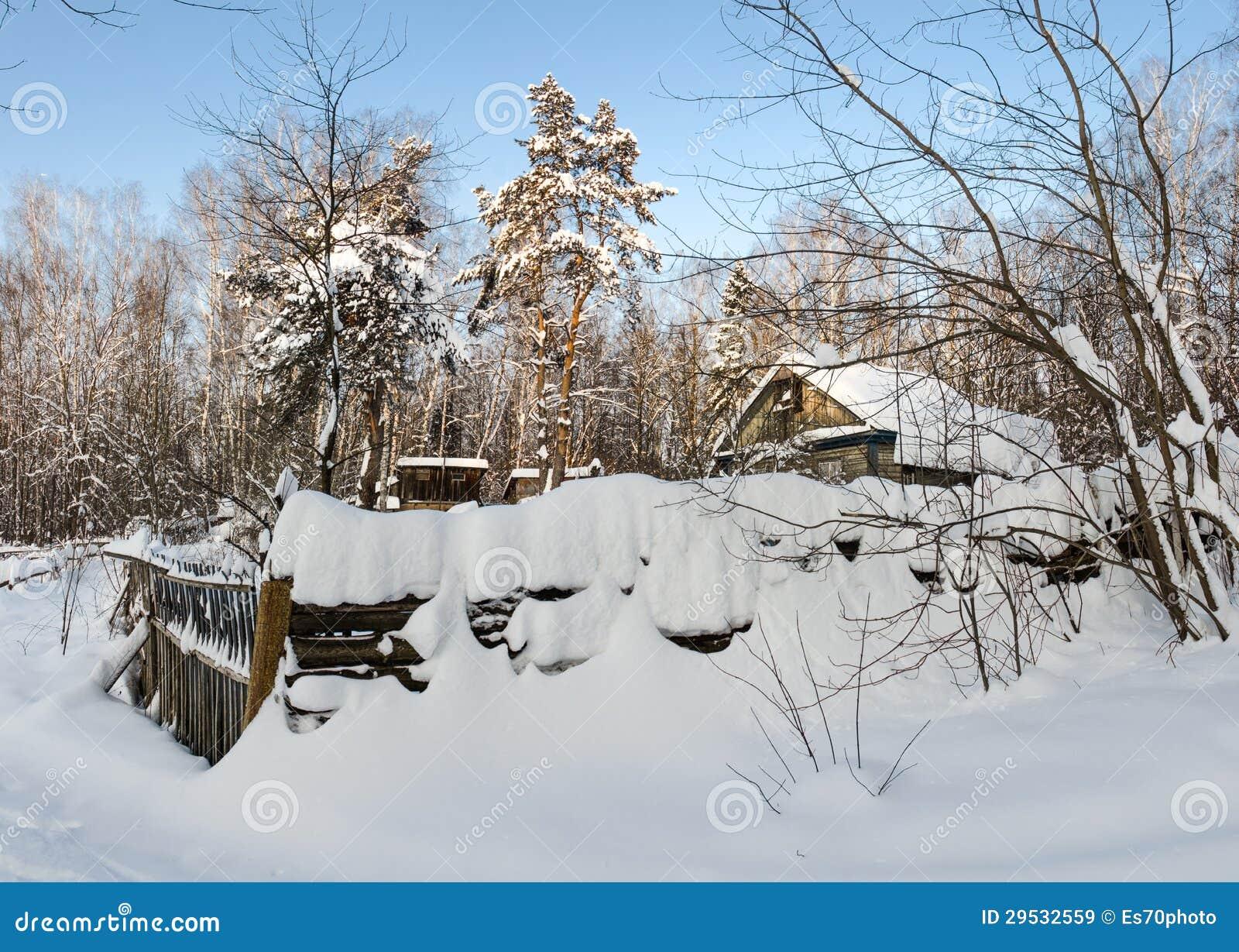 Inverno no lugares remotos
