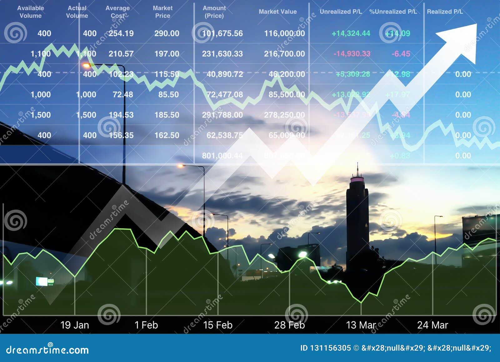 Inversión financiera acertada del negocio en propiedades inmobiliarias y viaje