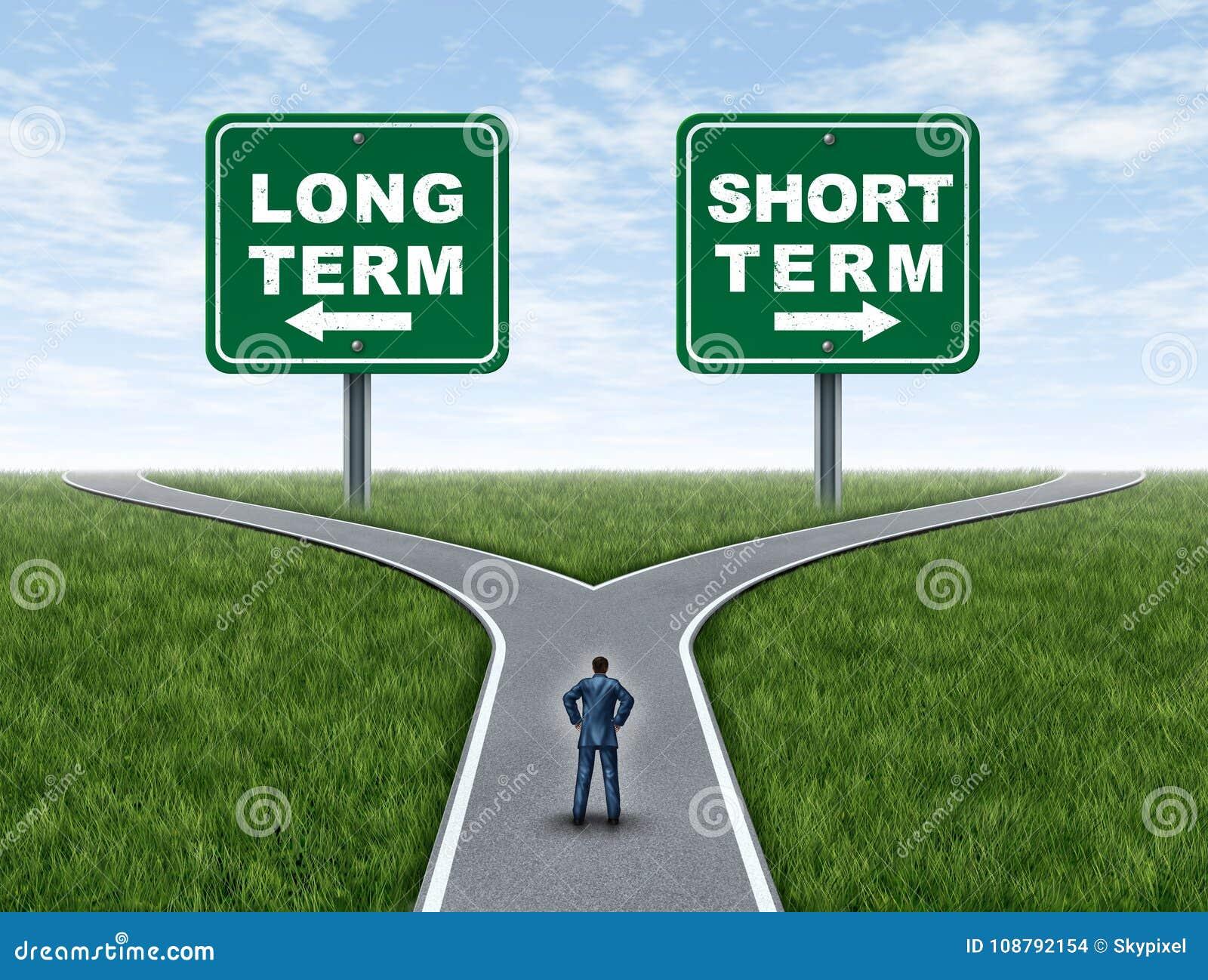 Inversin A Largo Plazo Y Corto Planificacin Financiera O Estrategia Del Inversor Invertir En Un Fondo Conservador Agresiva Con