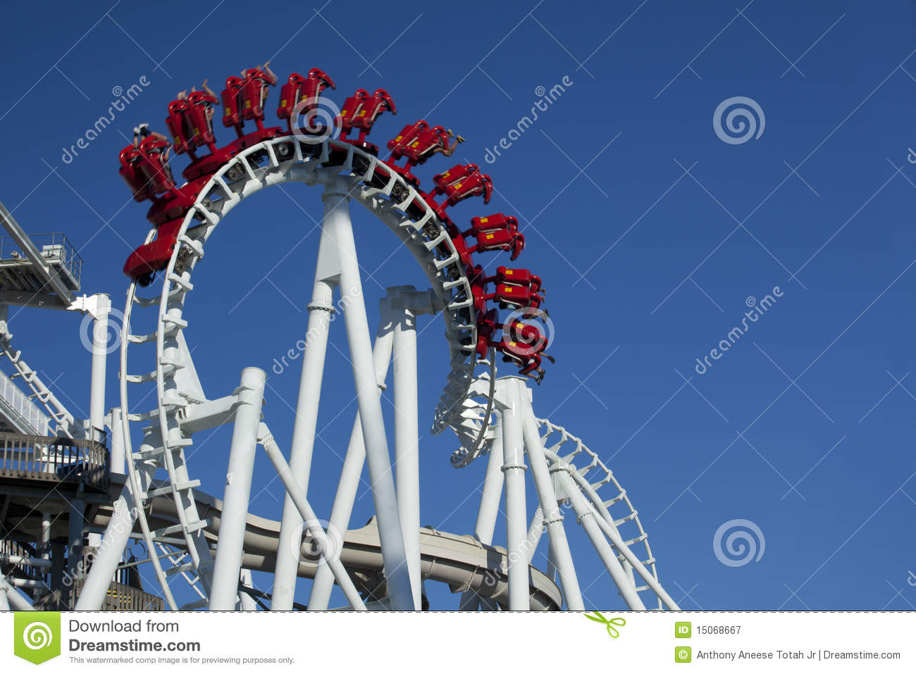 Inverted Hanging Rollercoaster