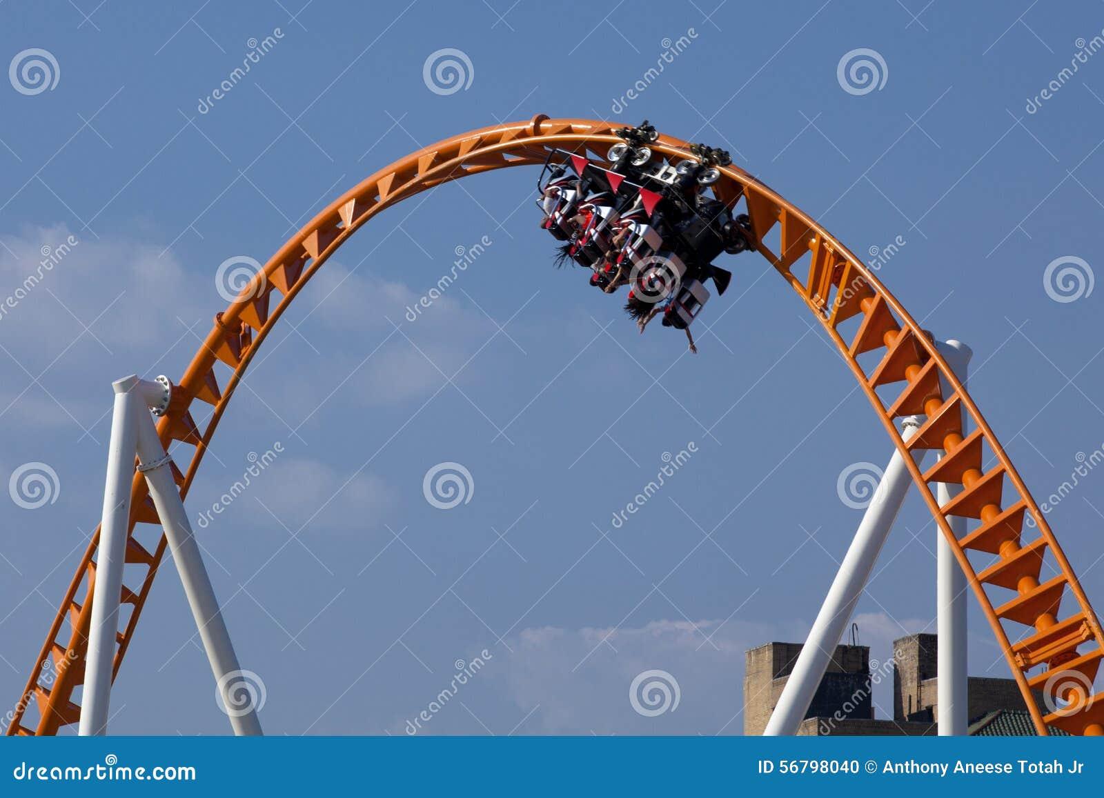 Inverted Modern Roller Coaster