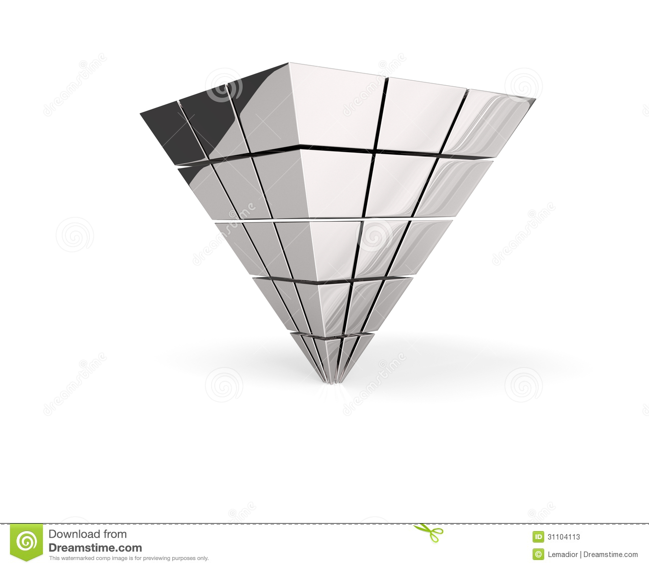 The inverted silver pyramid stock illustration illustration of the inverted silver pyramid buycottarizona