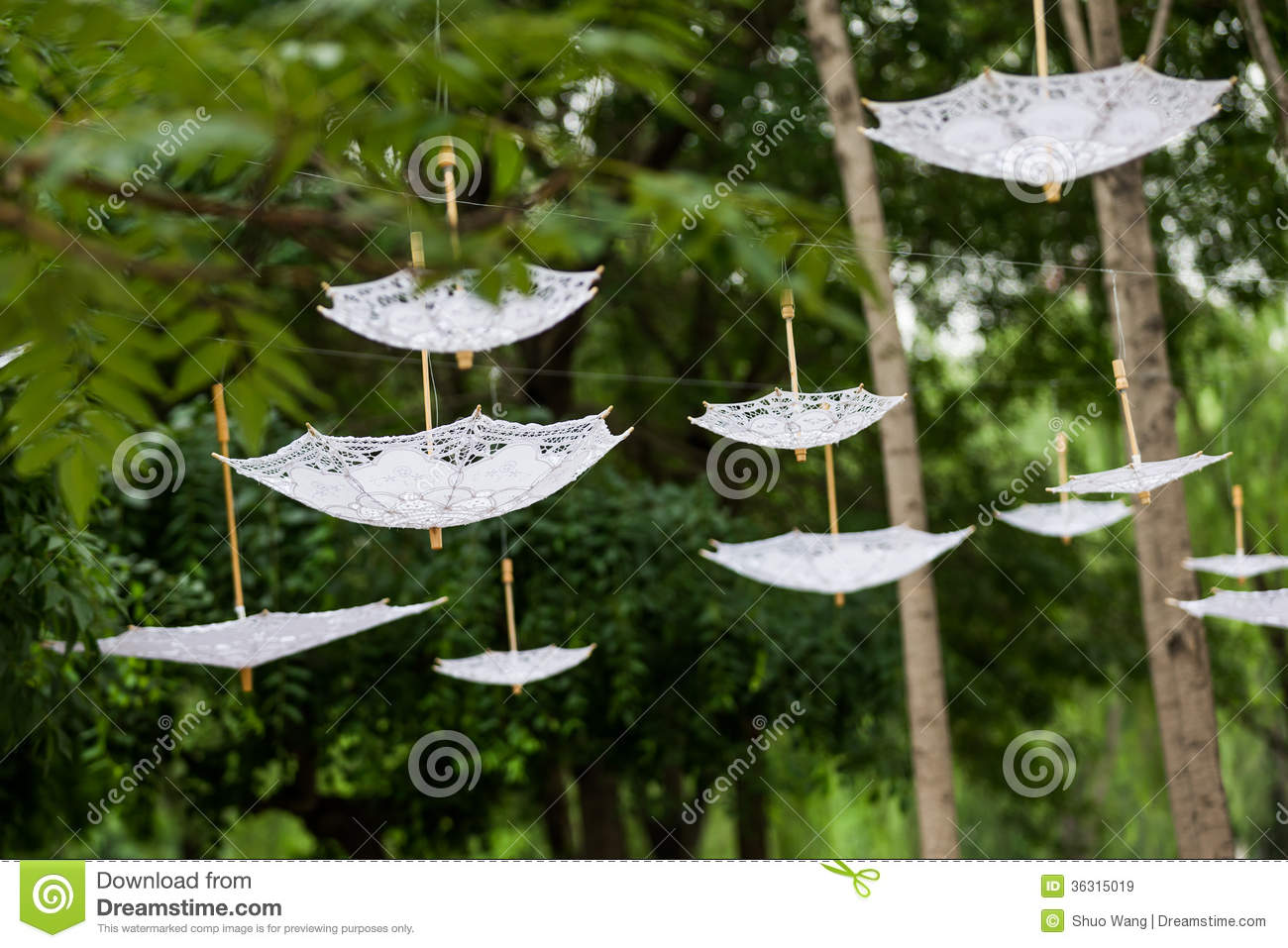 Inverted umbrella decoration stock image image of ceremony inverted umbrella decoration junglespirit Image collections