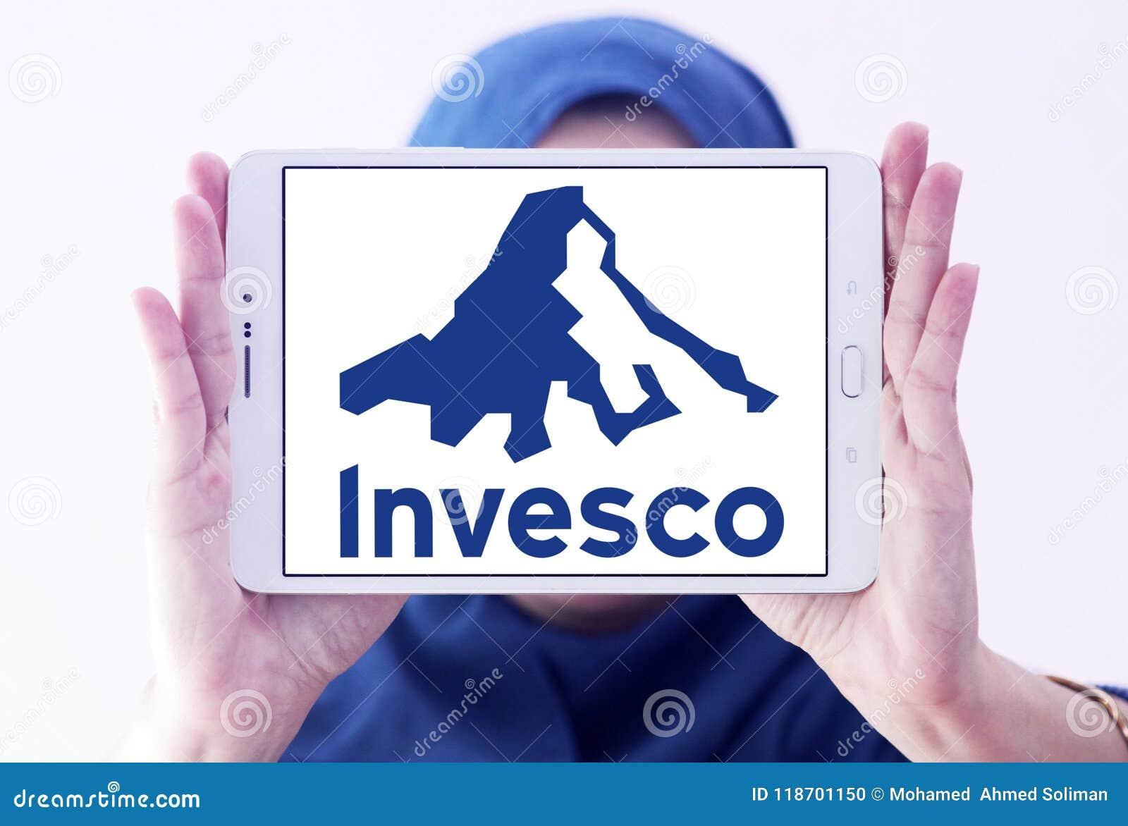 Invesco Investment Management Company Logo Editorial Image Image