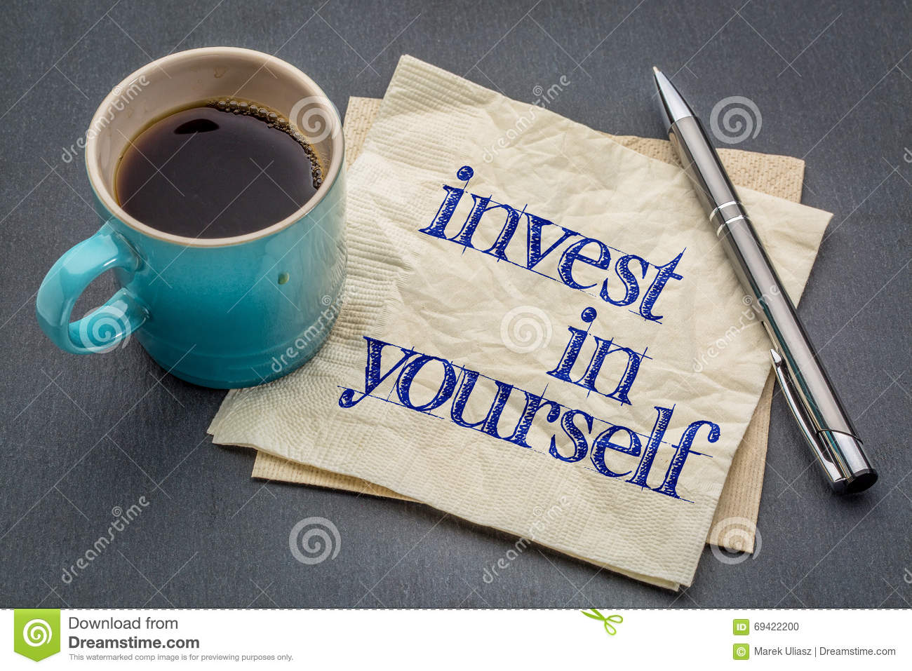 invest in yourself inspire quote handwritten stock vector image invest in yourself advice stock photo