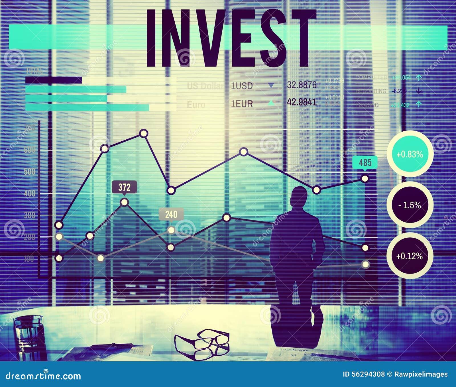 Investeer het Concept van het de Opbrengstinkomen van het Investeringsfonds