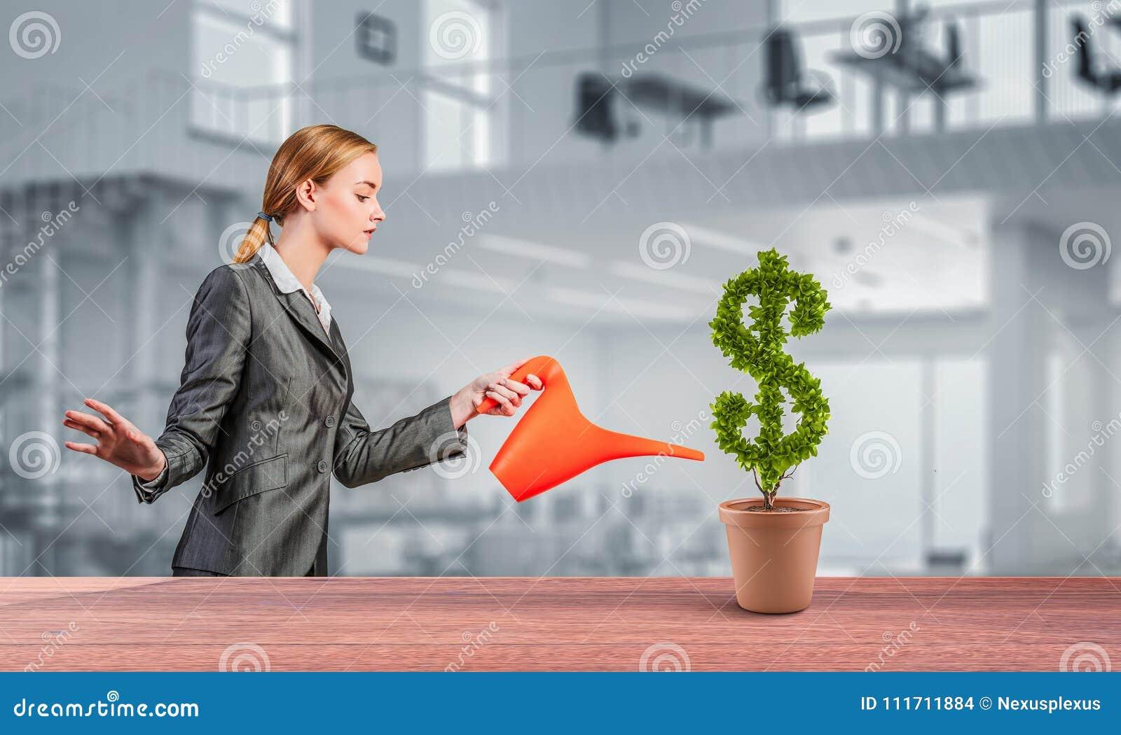 Investeer om uw inkomens te verhogen Gemengde media