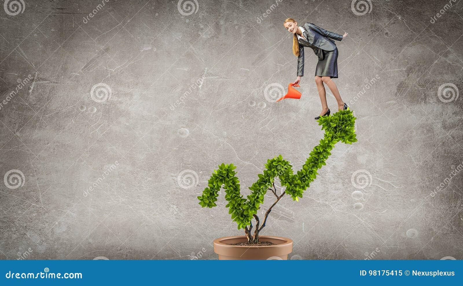 Investeer om uw inkomens te verhogen Gemengde media Gemengde media