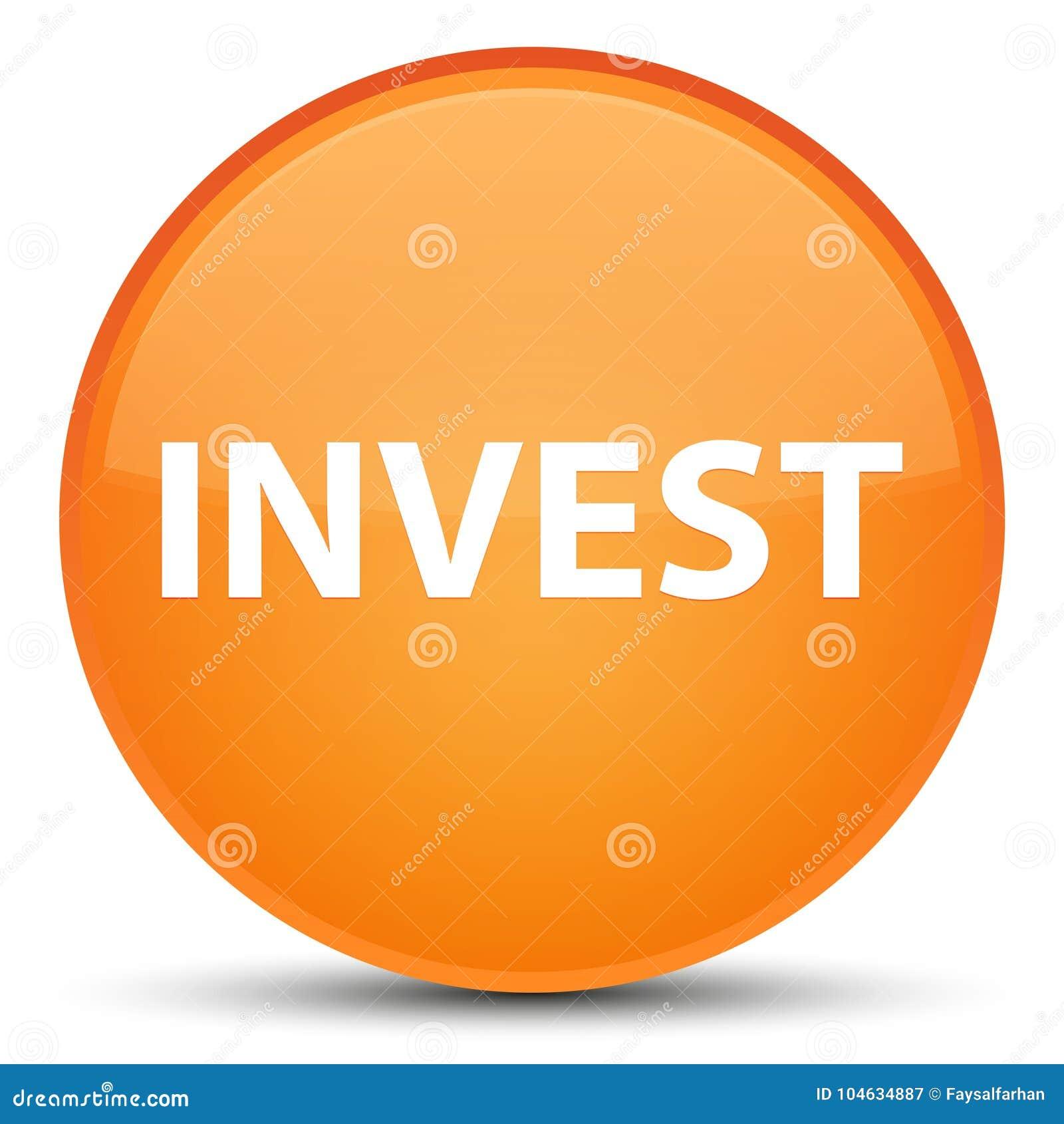 Download Investeer Speciale Oranje Ronde Knoop Stock Illustratie - Illustratie bestaande uit investering, bijdrage: 104634887