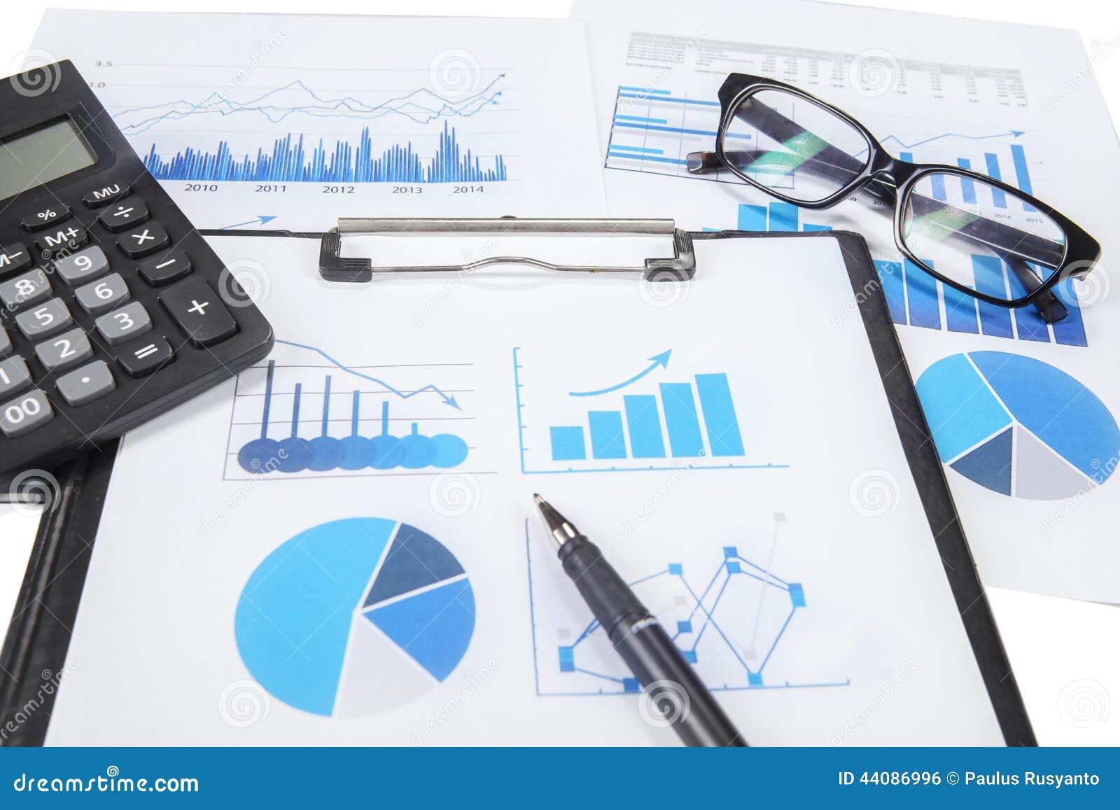 Investigación de las finanzas del negocio