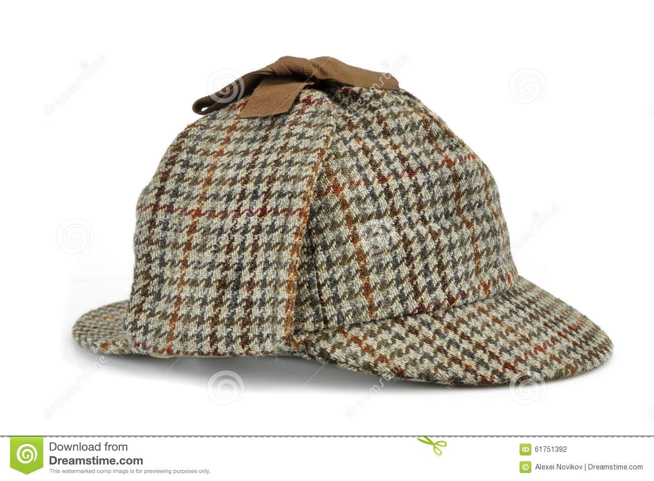 Investigation Concept With Sherlock Holmes Hat Famous As ...