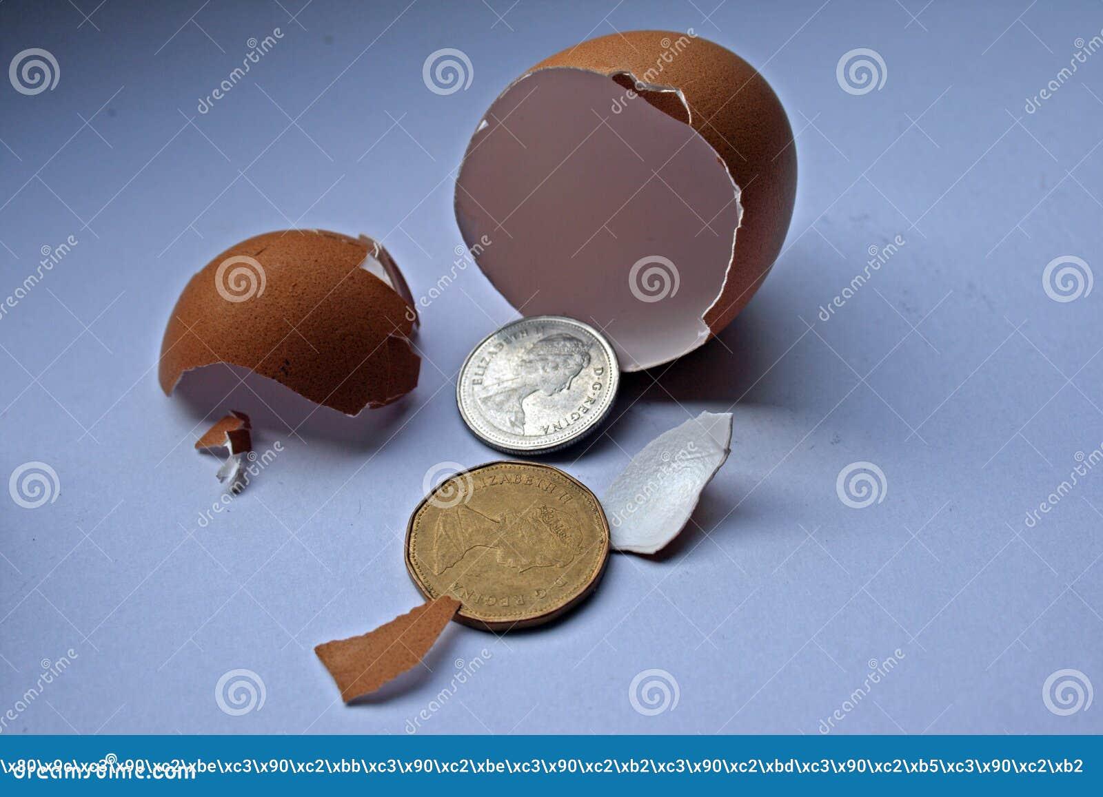 Investissement de finances de concept
