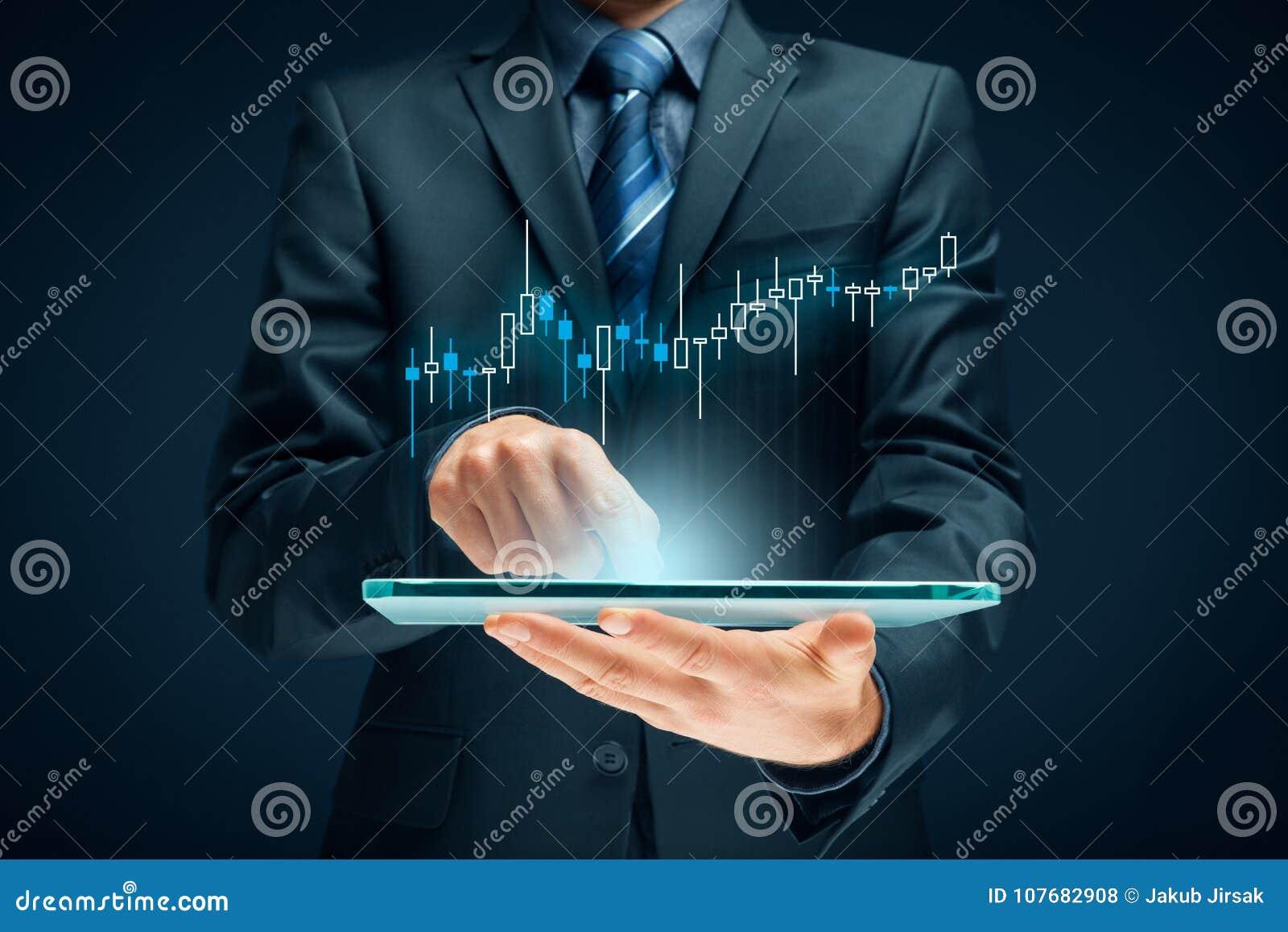Investitore e commerciante