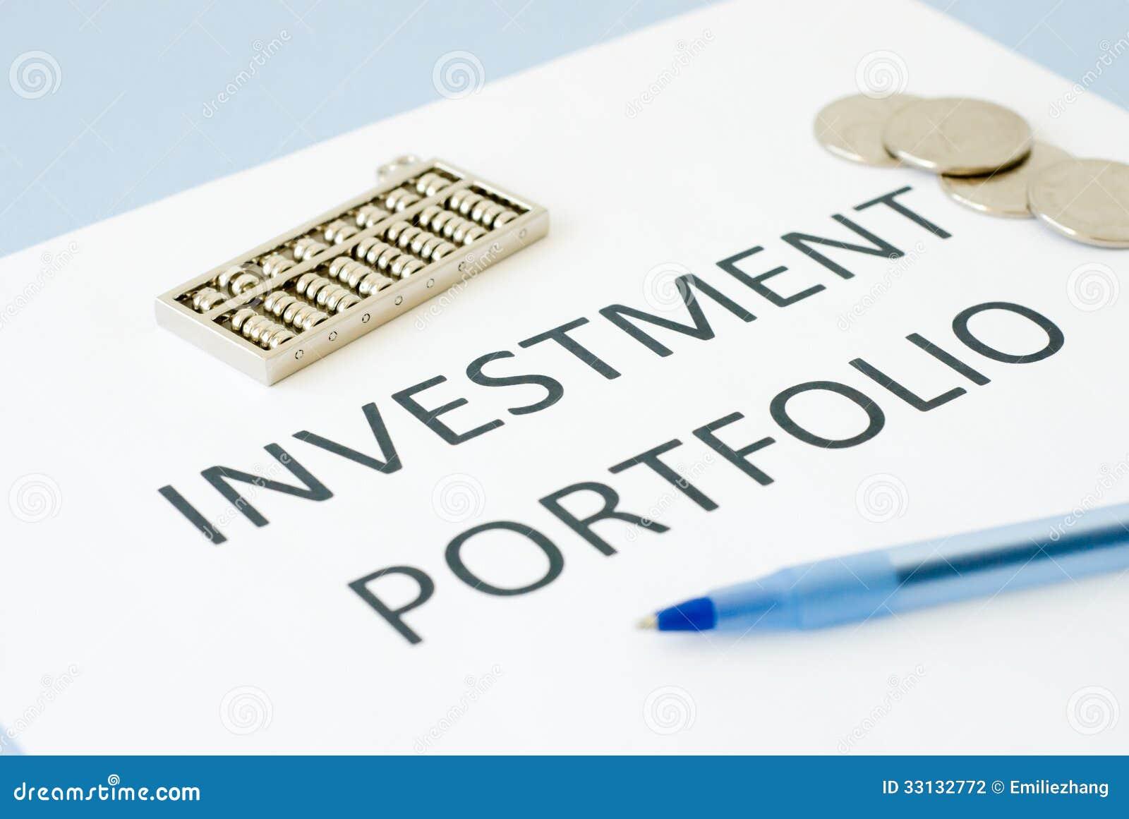 Understanding what is a portfolio