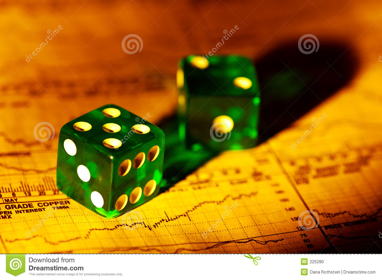 Download Investment Risks stock photo. Image of gamble, roll, risk - 225280