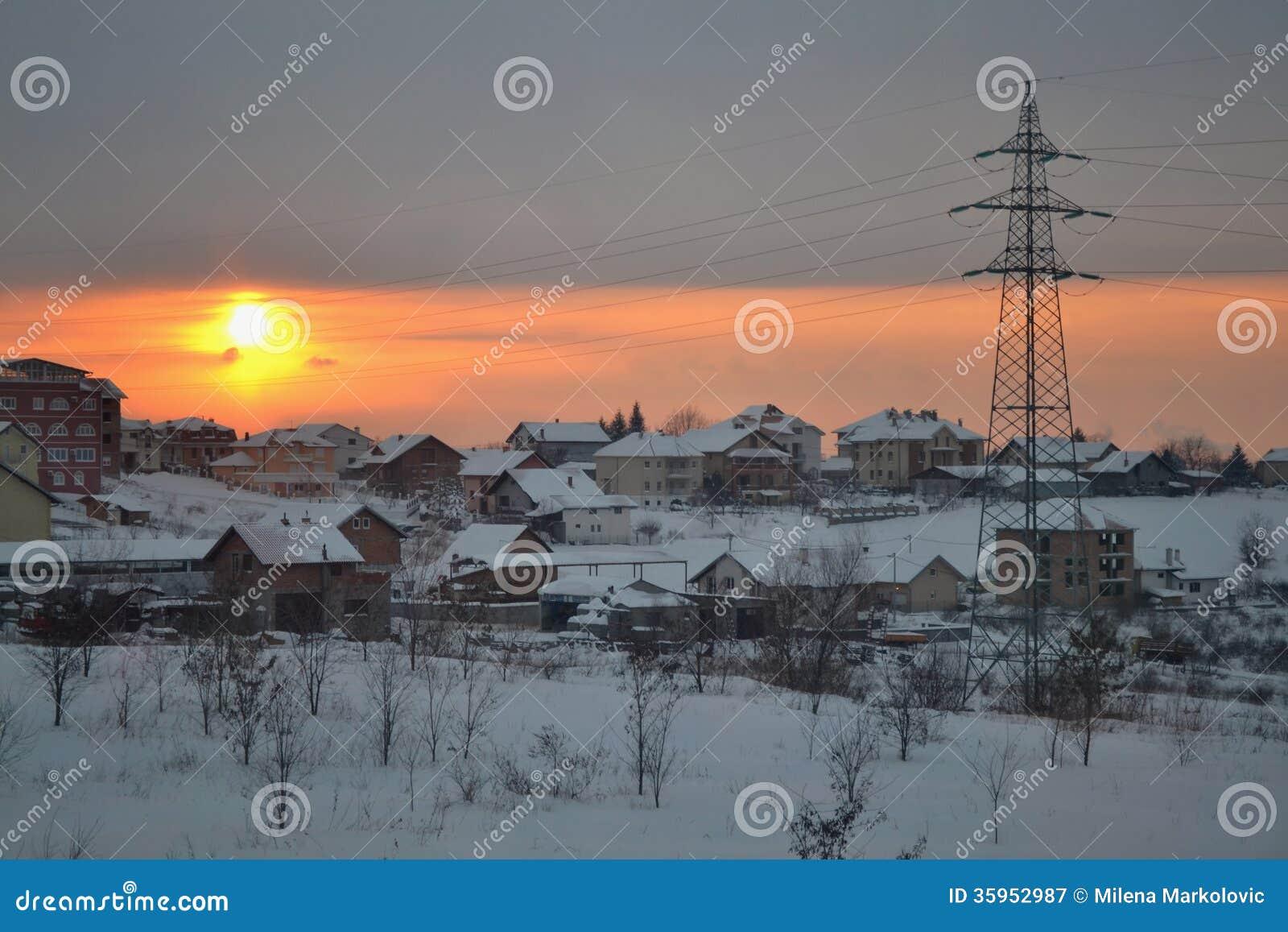 Invierno en Belgrado