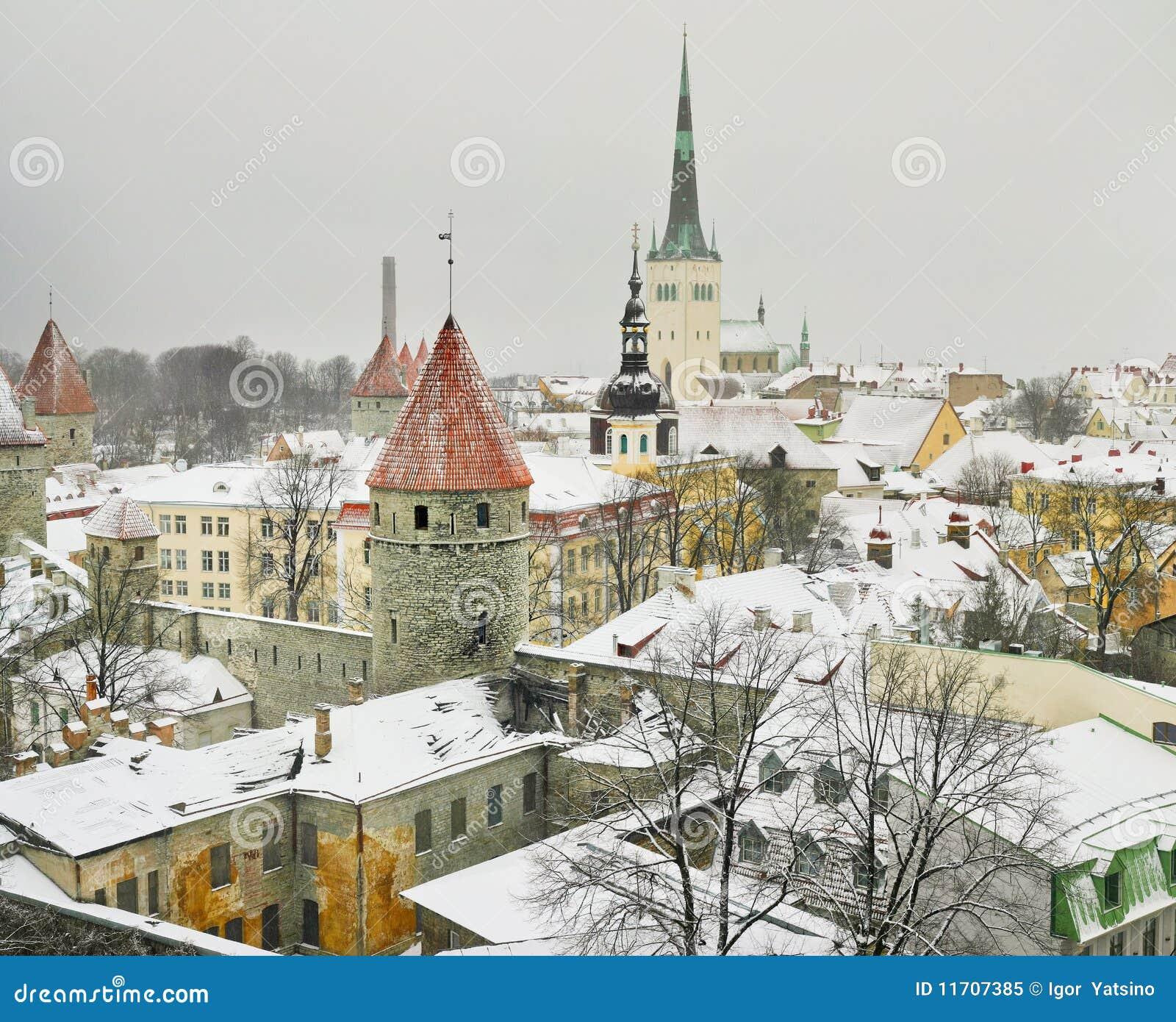 Invierno en Tallinn