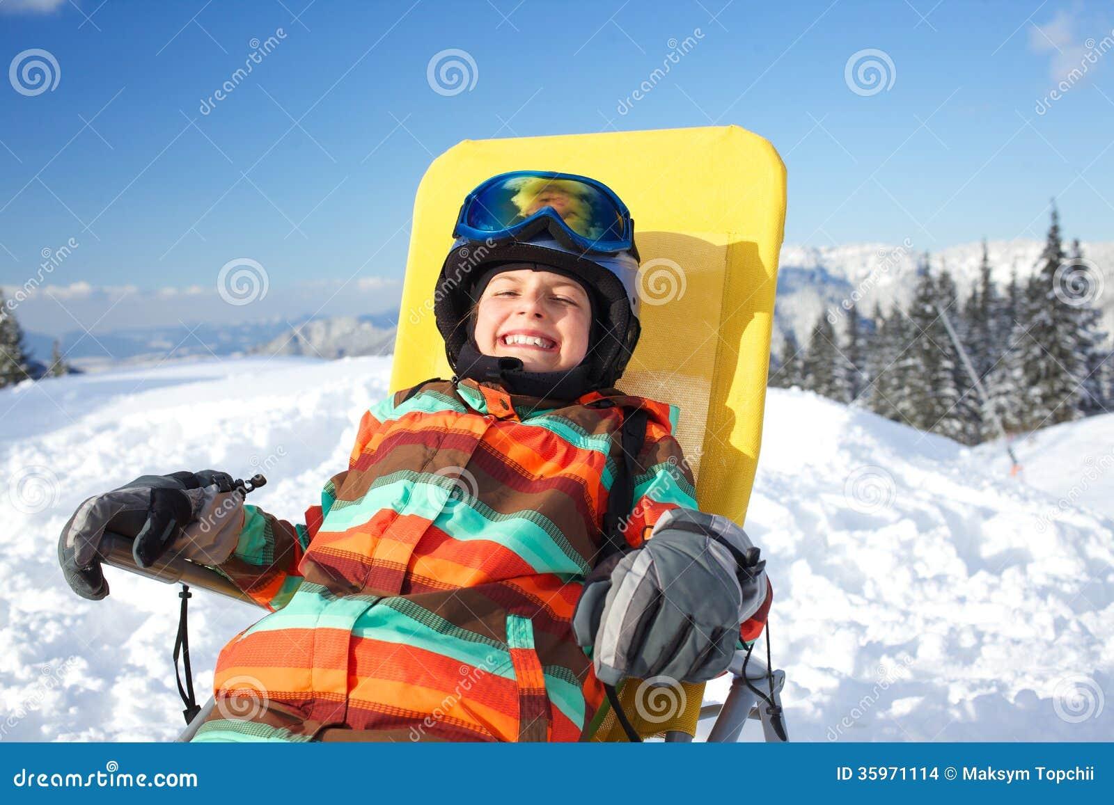 Invierno, esquí, sol y diversión.