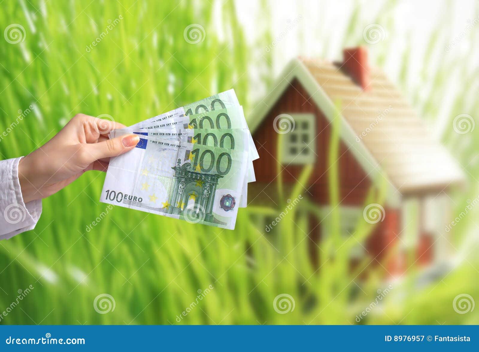 Invierta en concepto de las propiedades inmobiliarias.
