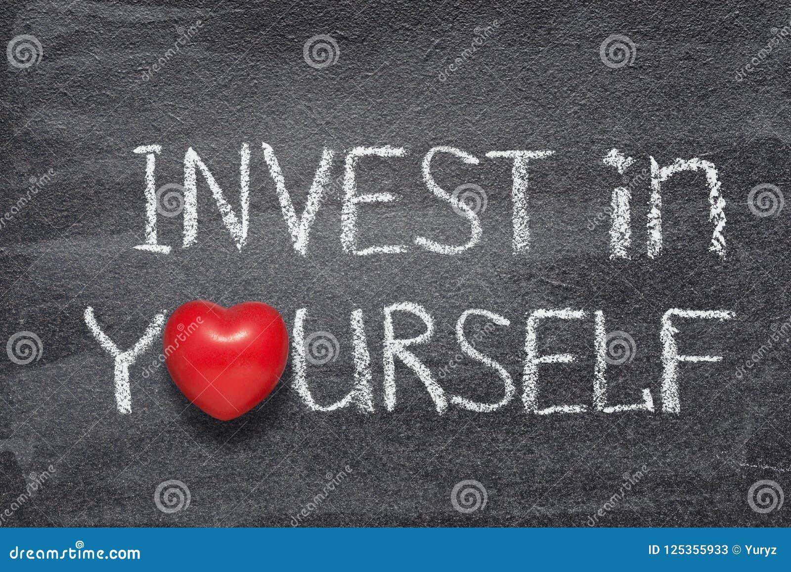 Invierta en sí mismo