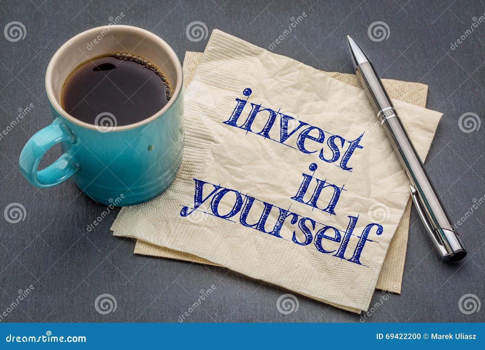 Invierta en sí mismo el consejo
