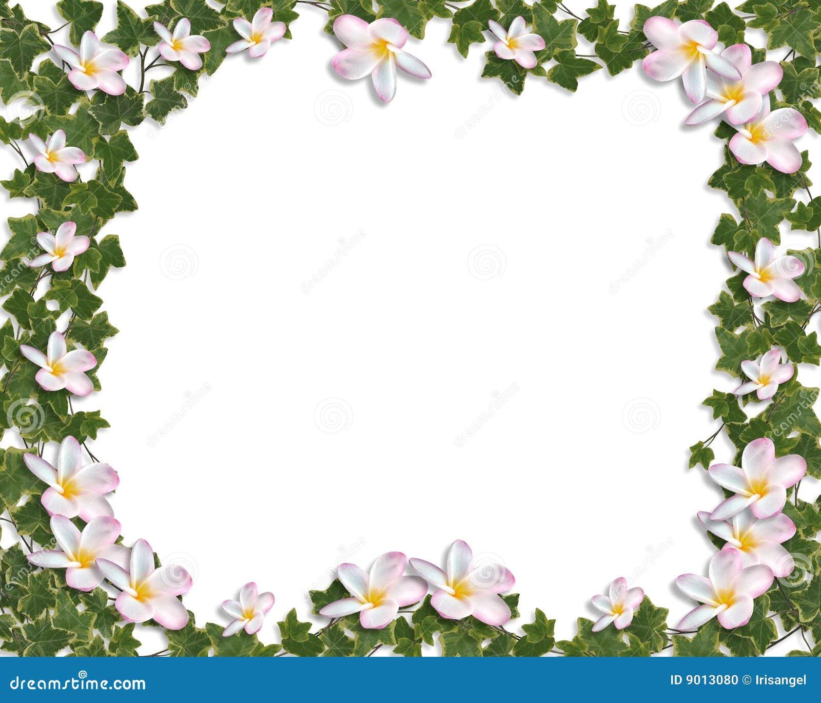 Flores de la boda del Plumeria