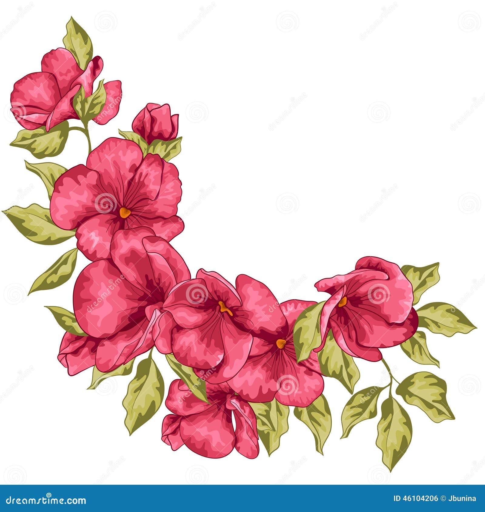 Invitación De Boda Flores De Sakura Ilustración Del Vector ...